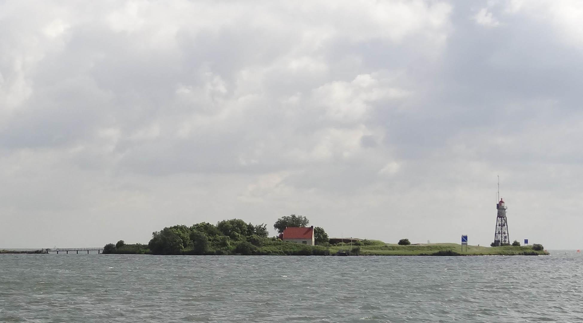 Insel nordöstlich von Durgerdam