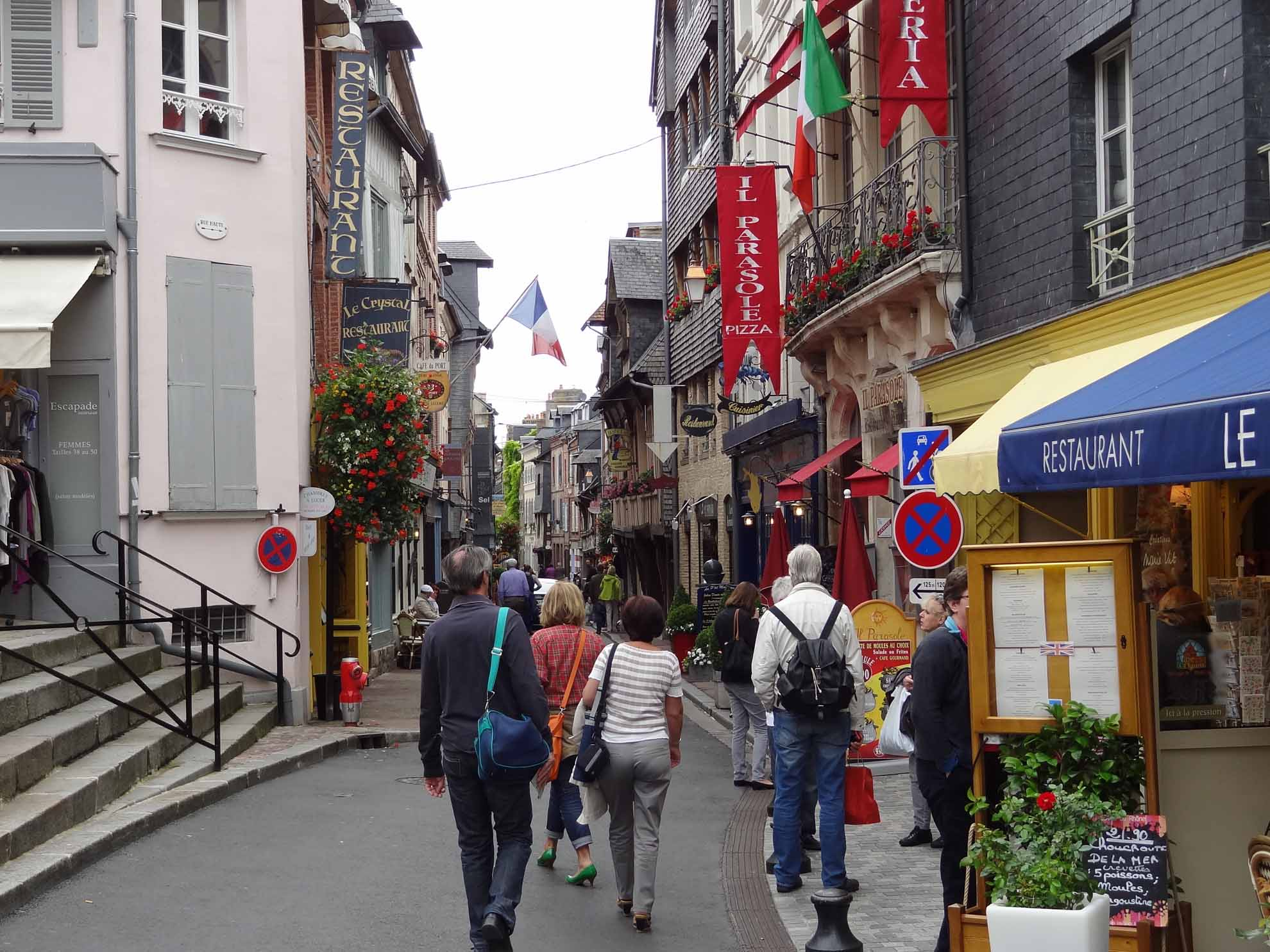 2012-07-12_Straße in Honfleur