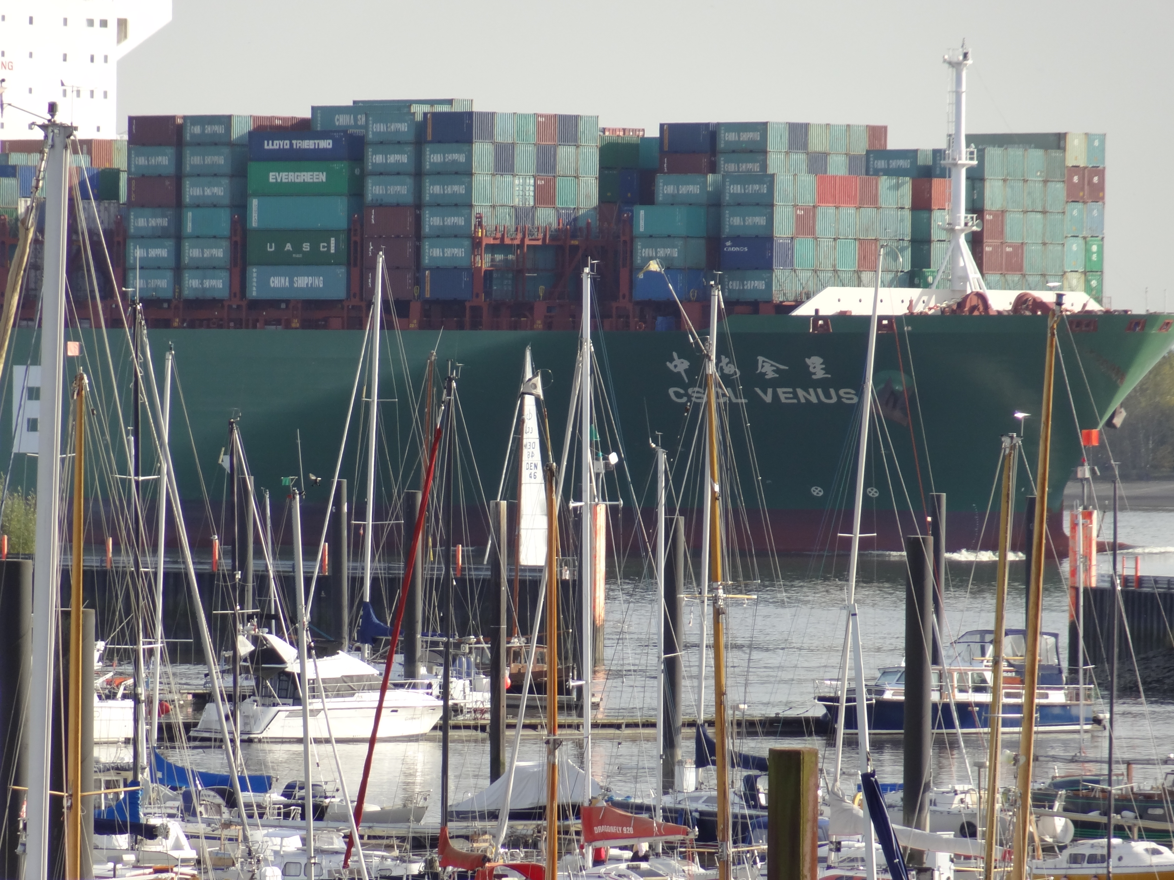 Hamburger Yachthafen - Wedel