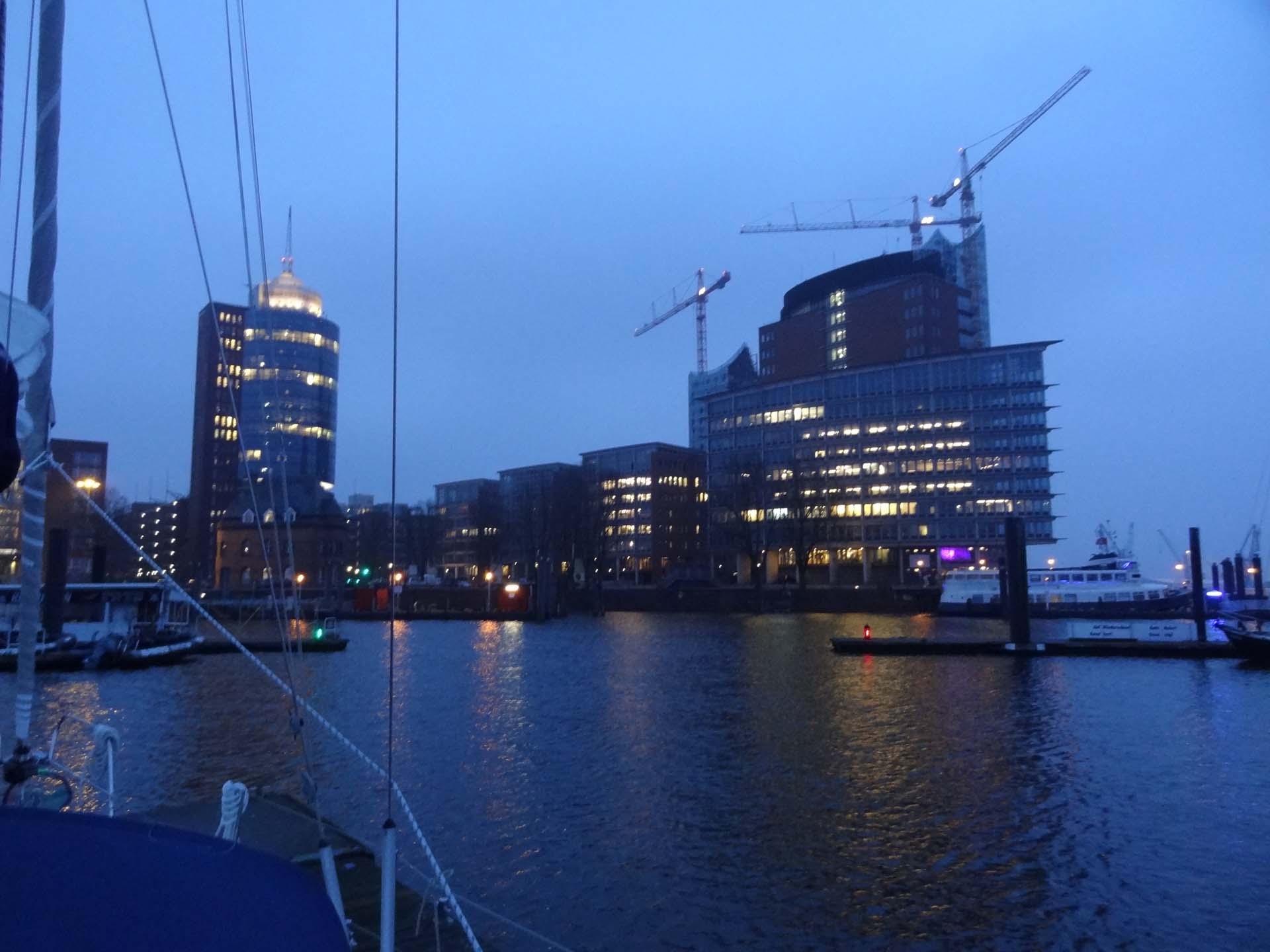 Hamburg um 06:30 Uhr
