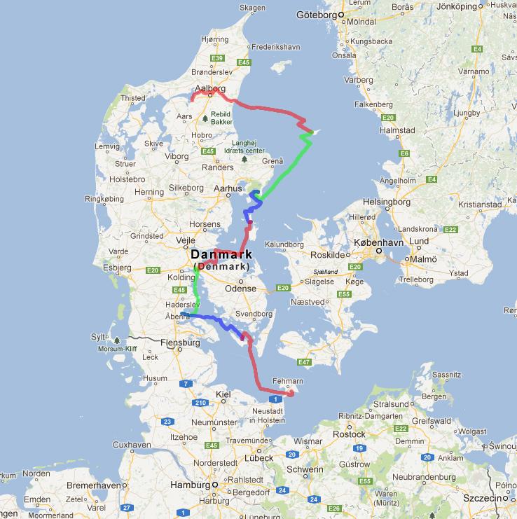 Track Nibe - Fehmarn