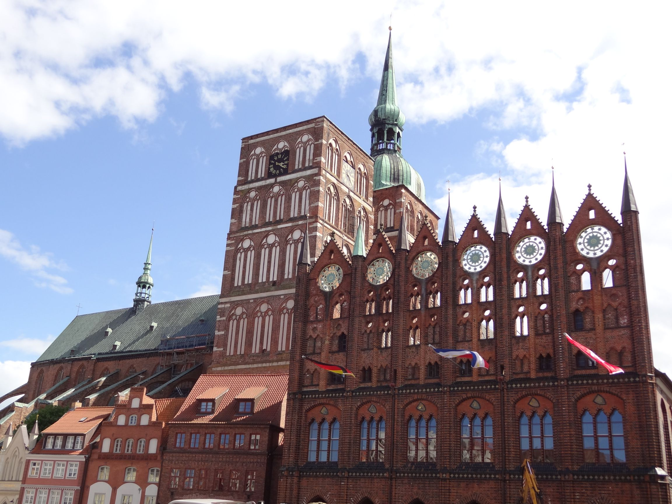 Alter Markt in Stralsund