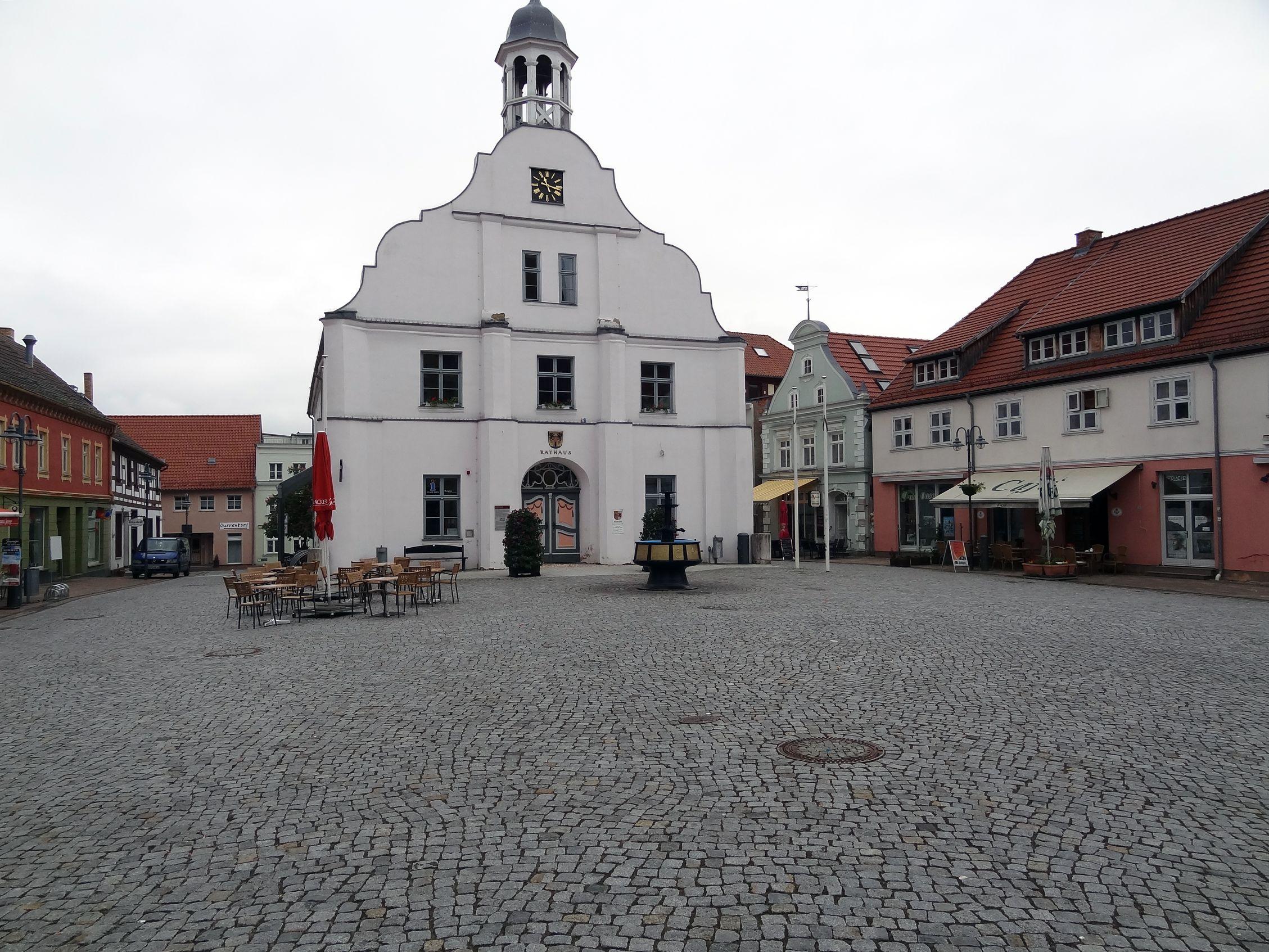 Rathausplatz in Wolgast