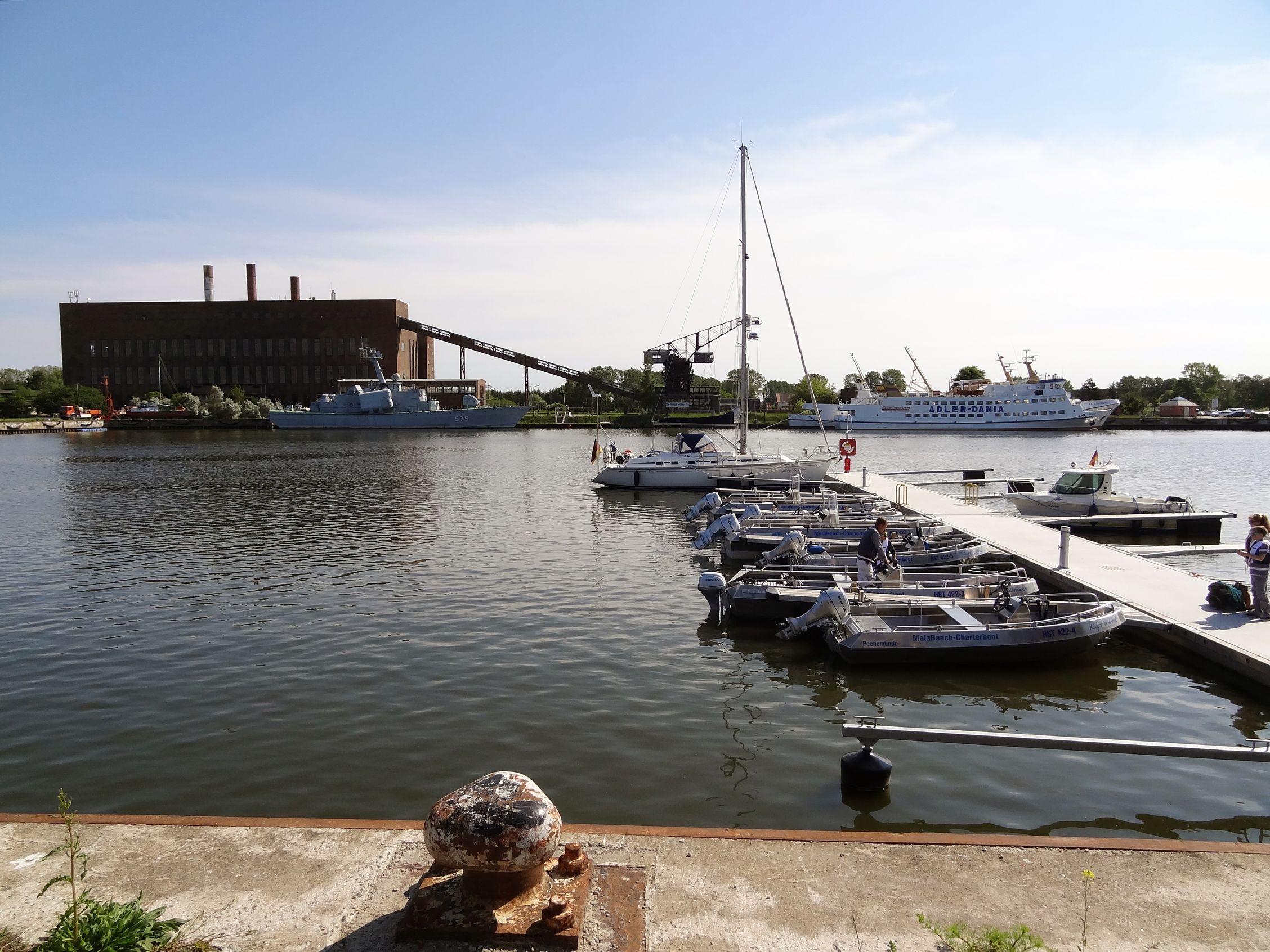 Hafen Peenemünde mit Historisch-Technischem Museum