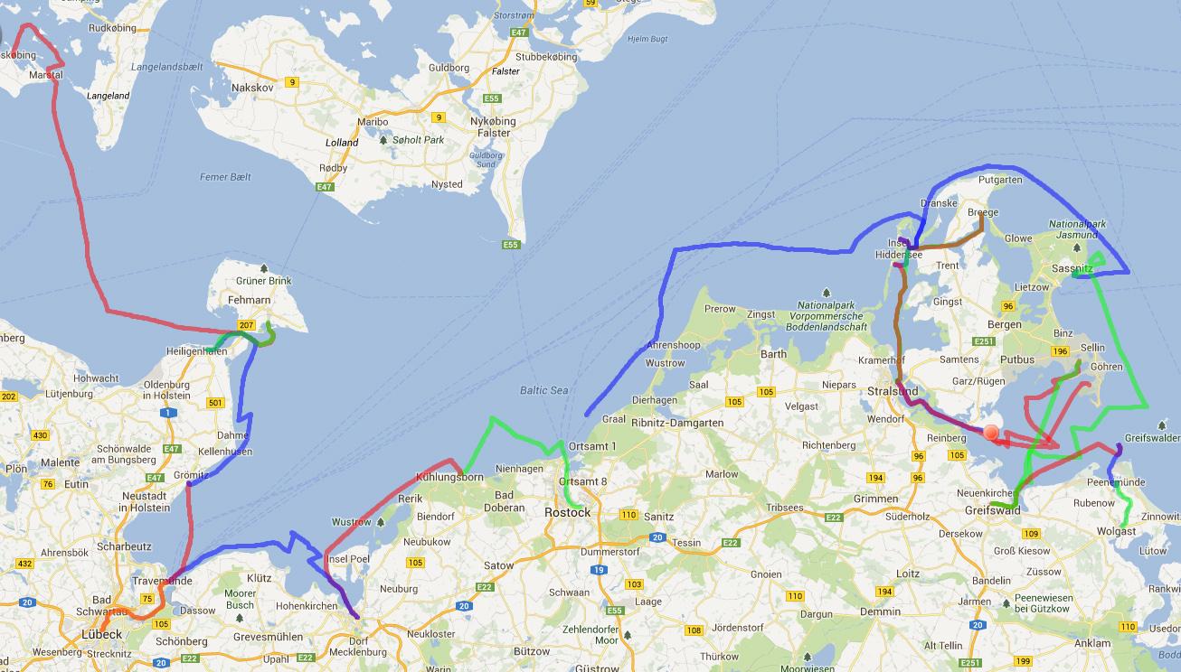 Track Deutsche Ostseeküste