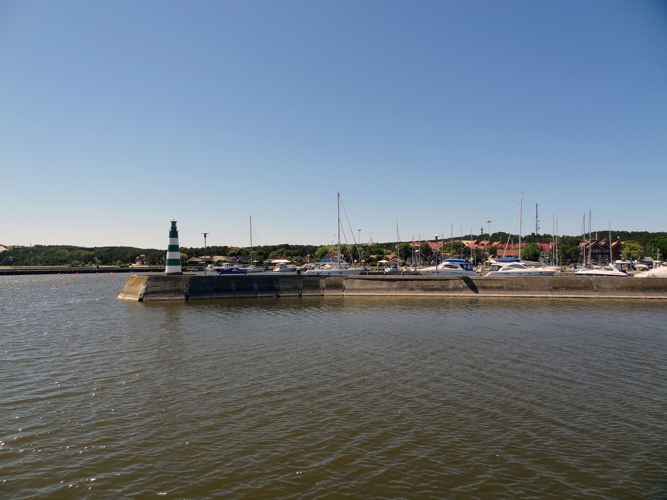 Hafen von Nida