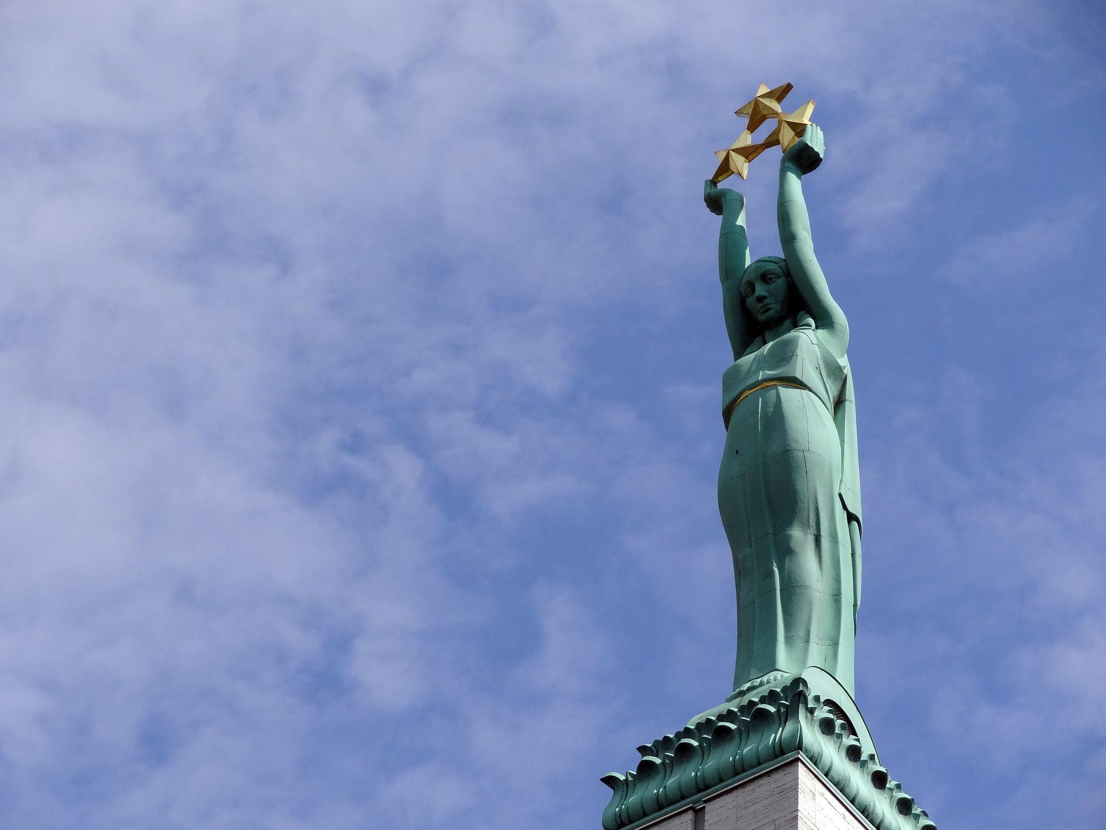 Freiheitsstatue von Riga