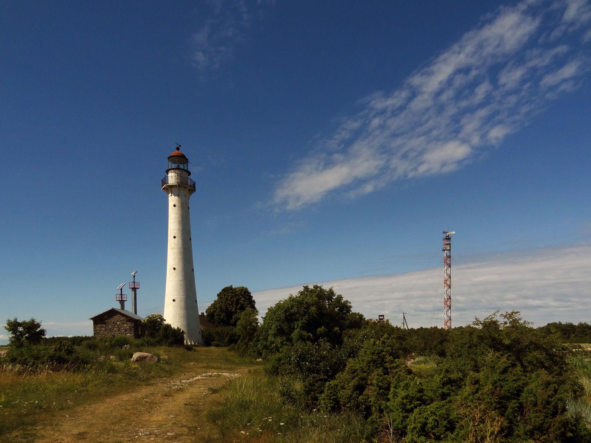Leuchtturm auf Kihnu