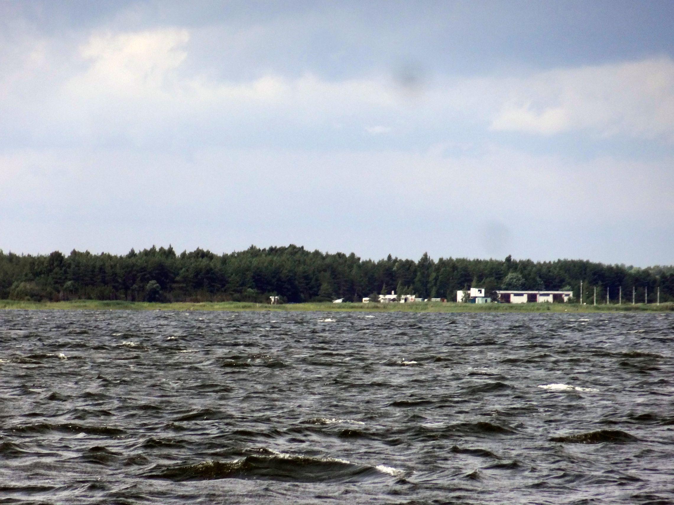Hafen Lounaranna von See