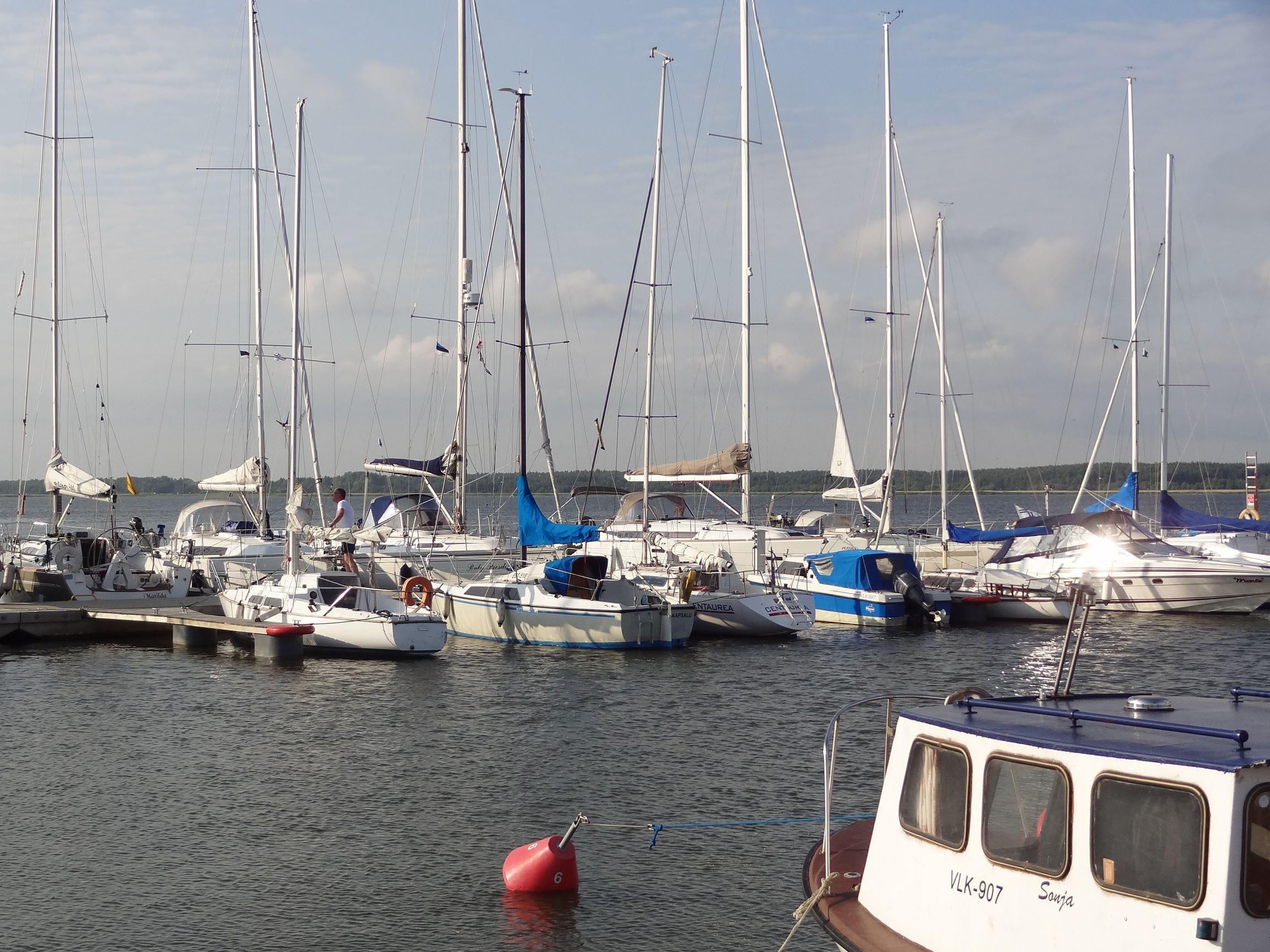 Hafen von Haapsalu