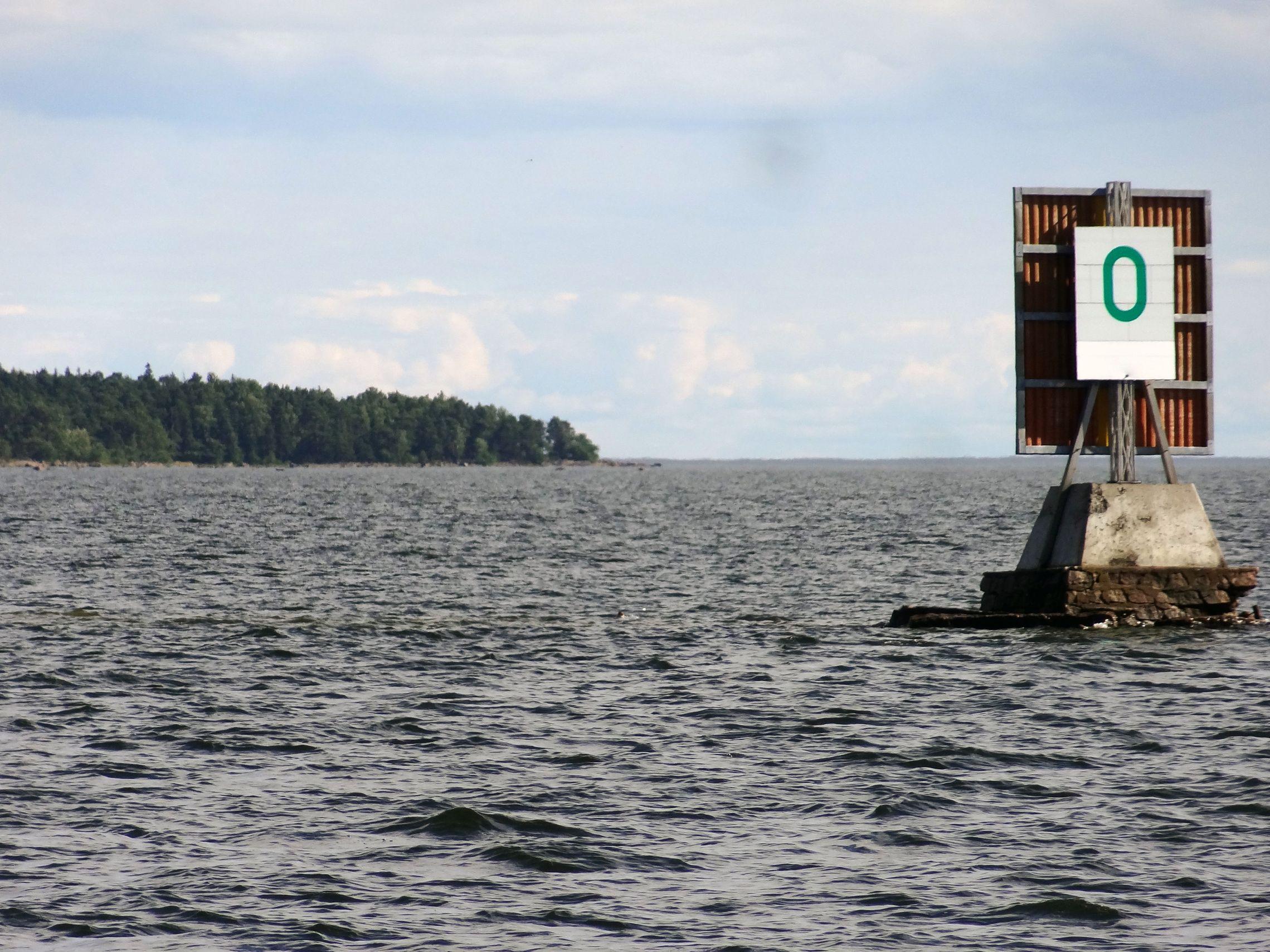 Finnische Seezeichen