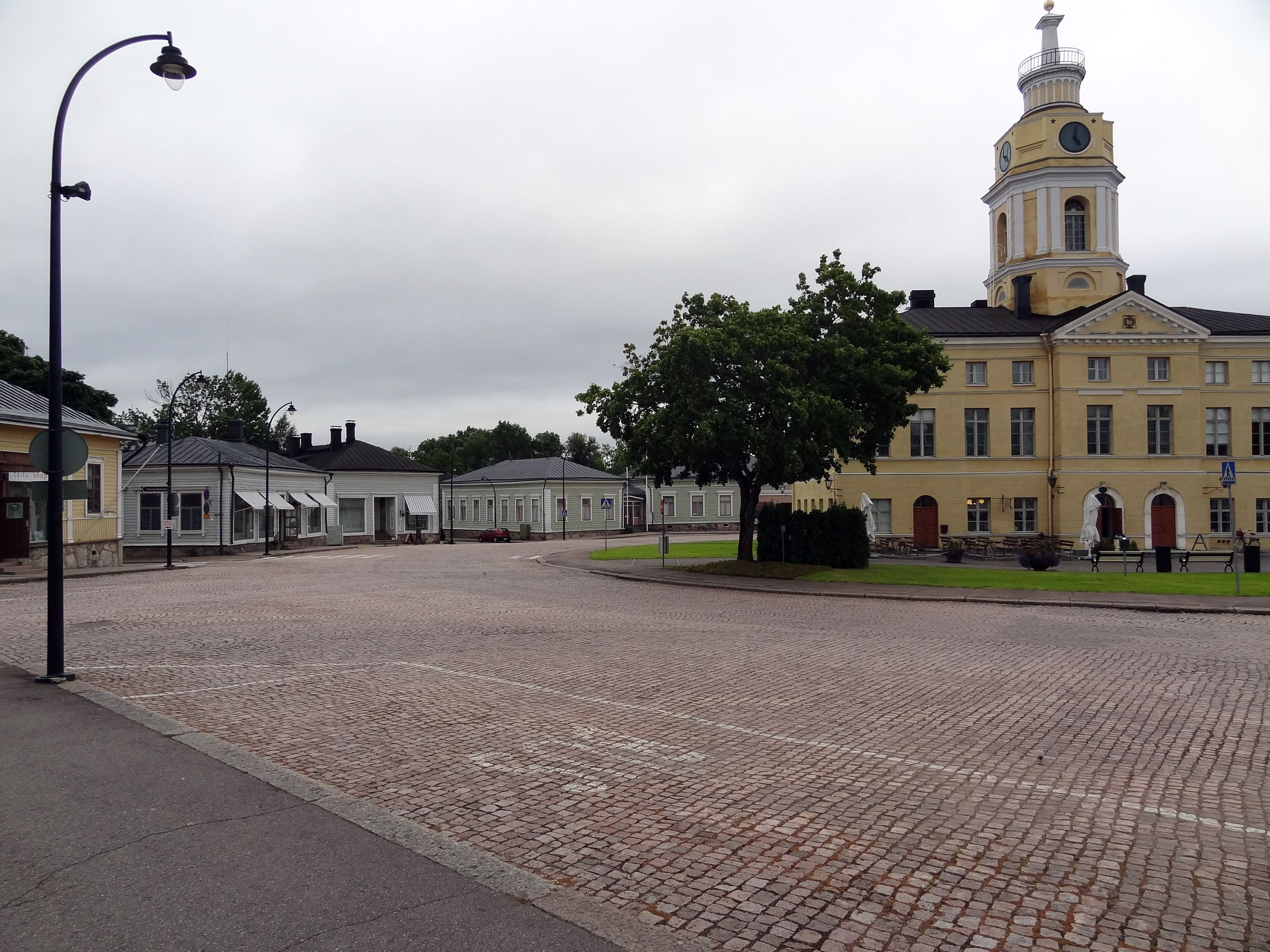 Rathausplatz in Hamina