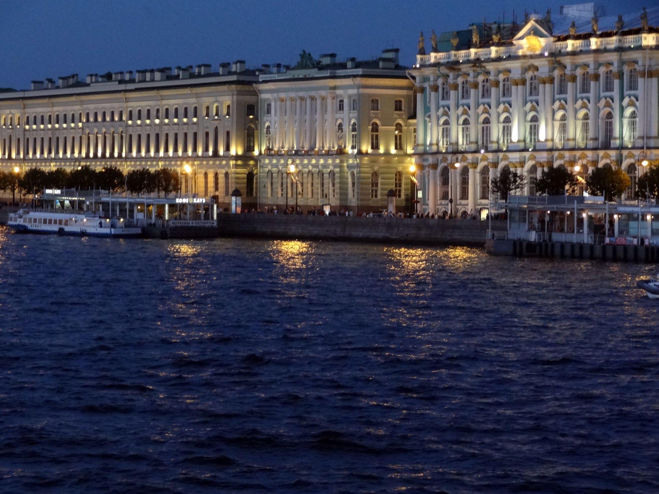 St. Petersburg in der Dämmerung