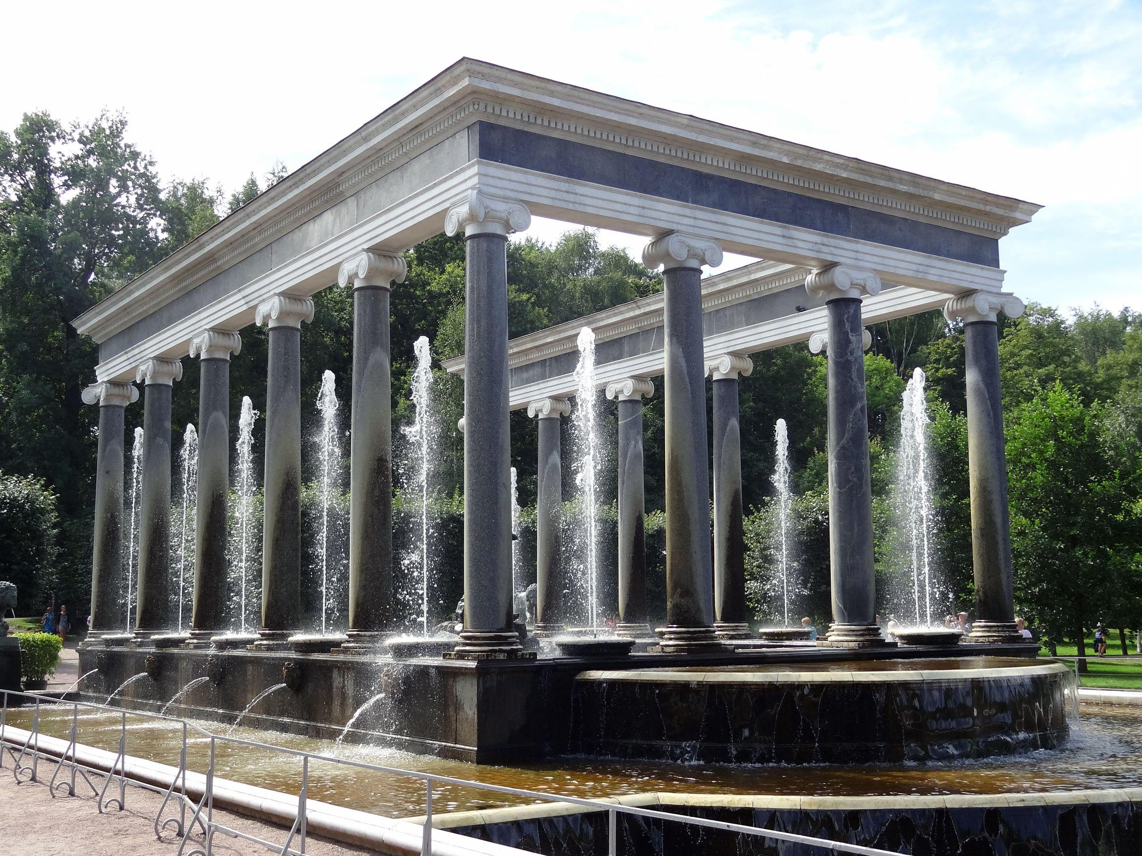 Griechischer Brunnen