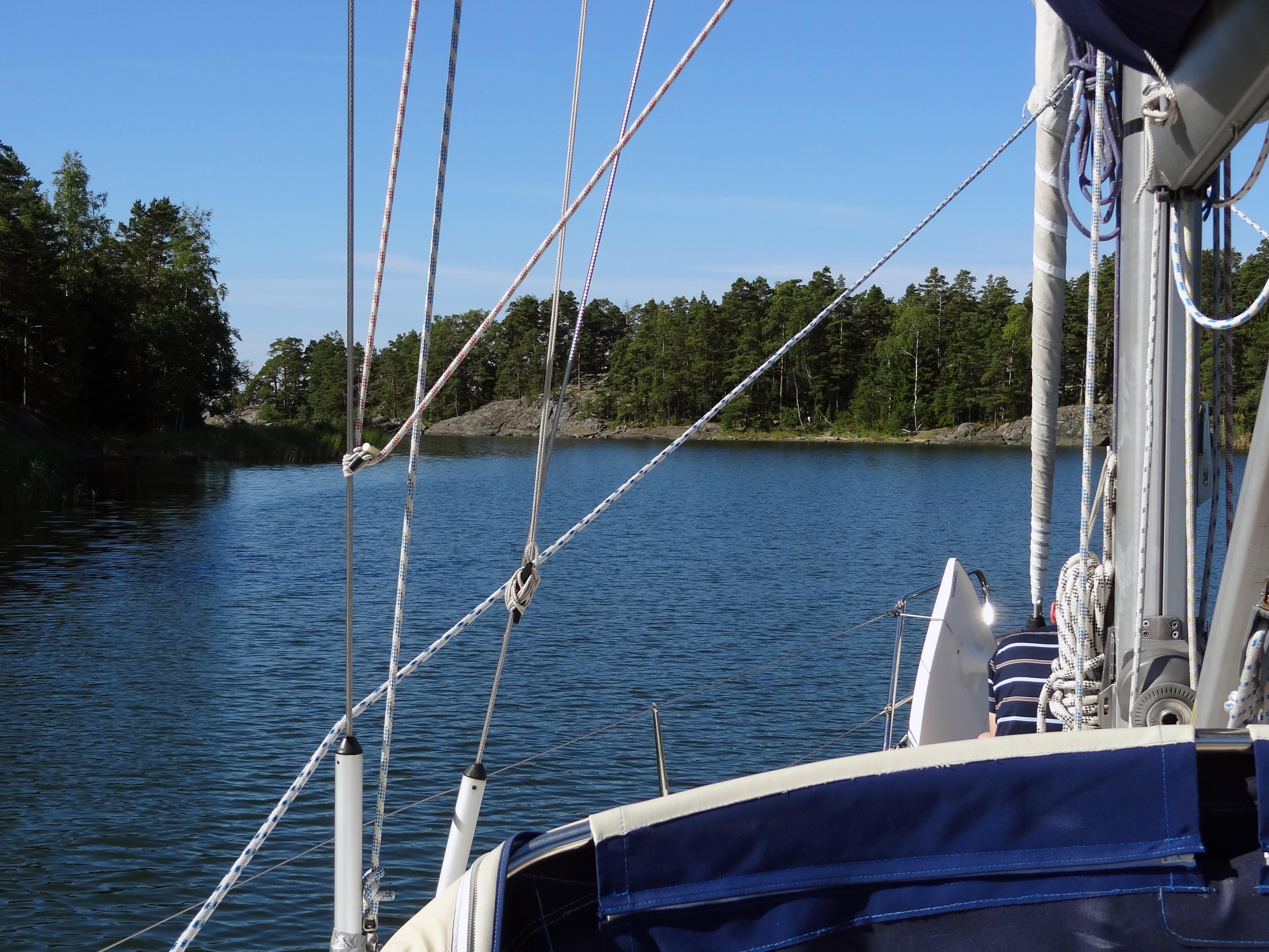 Ausfahrt aus Lillfjärden
