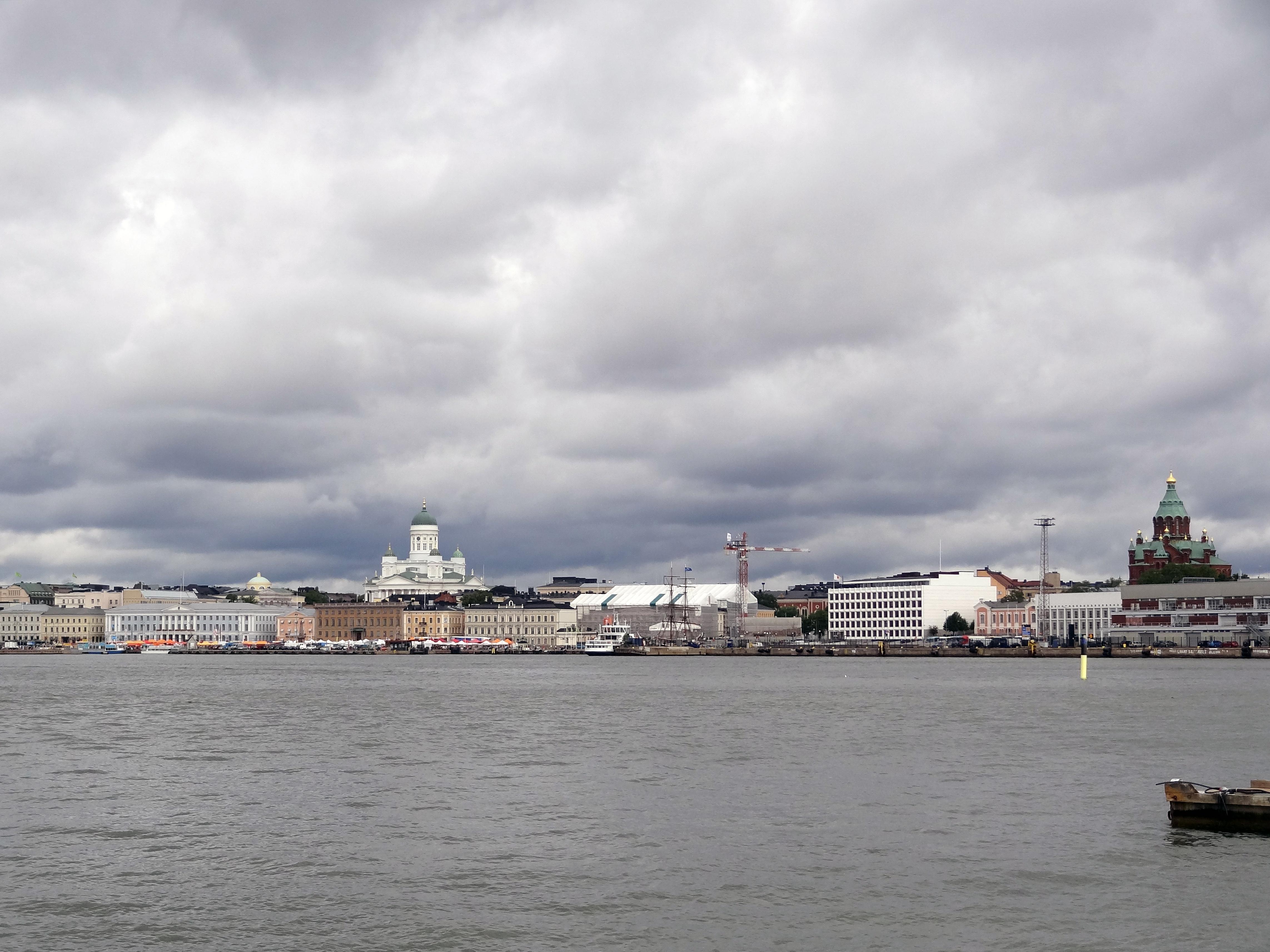 """""""Skyline"""" von Helsinki"""