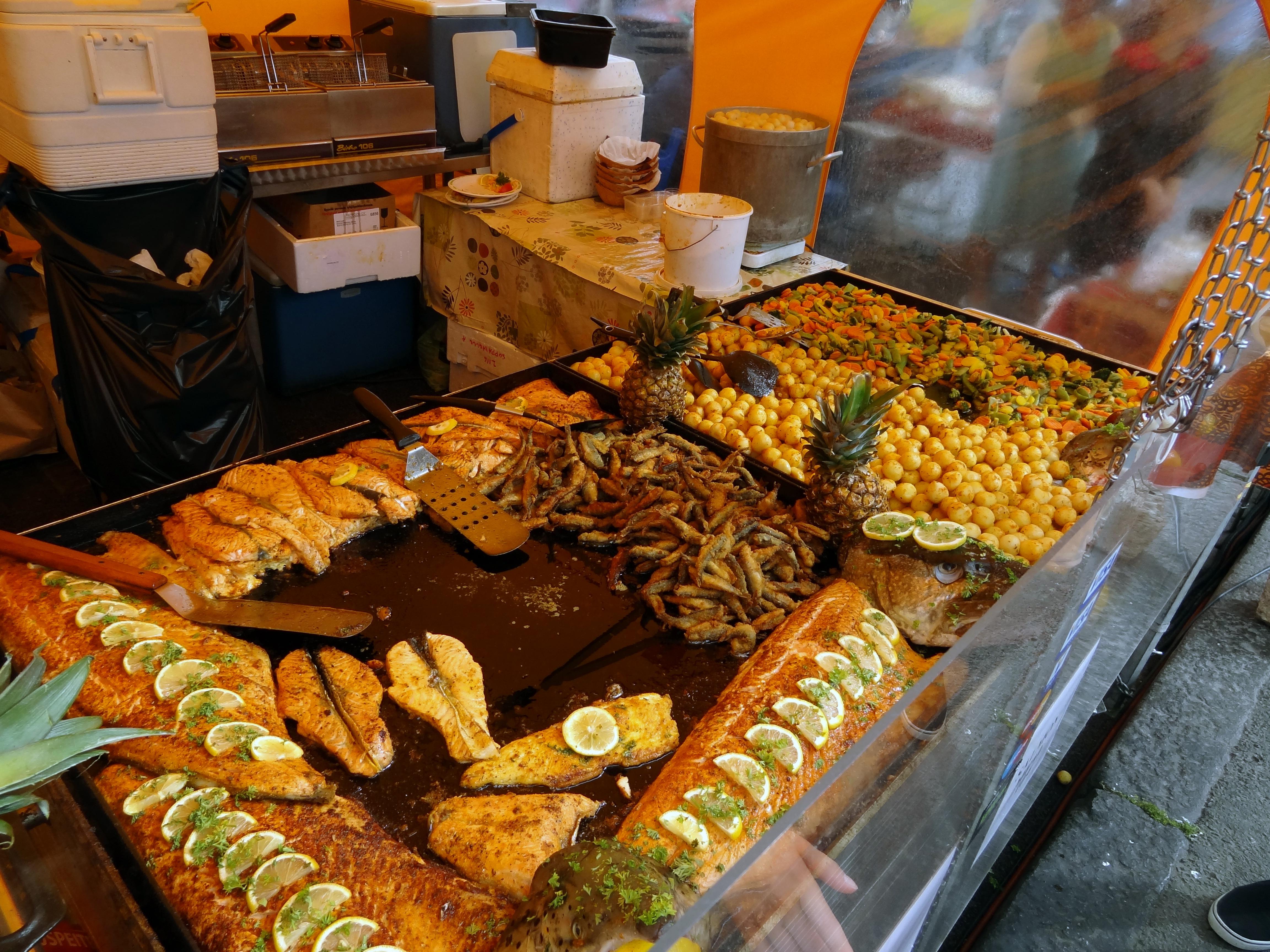Auf dem Markt von Helsinki