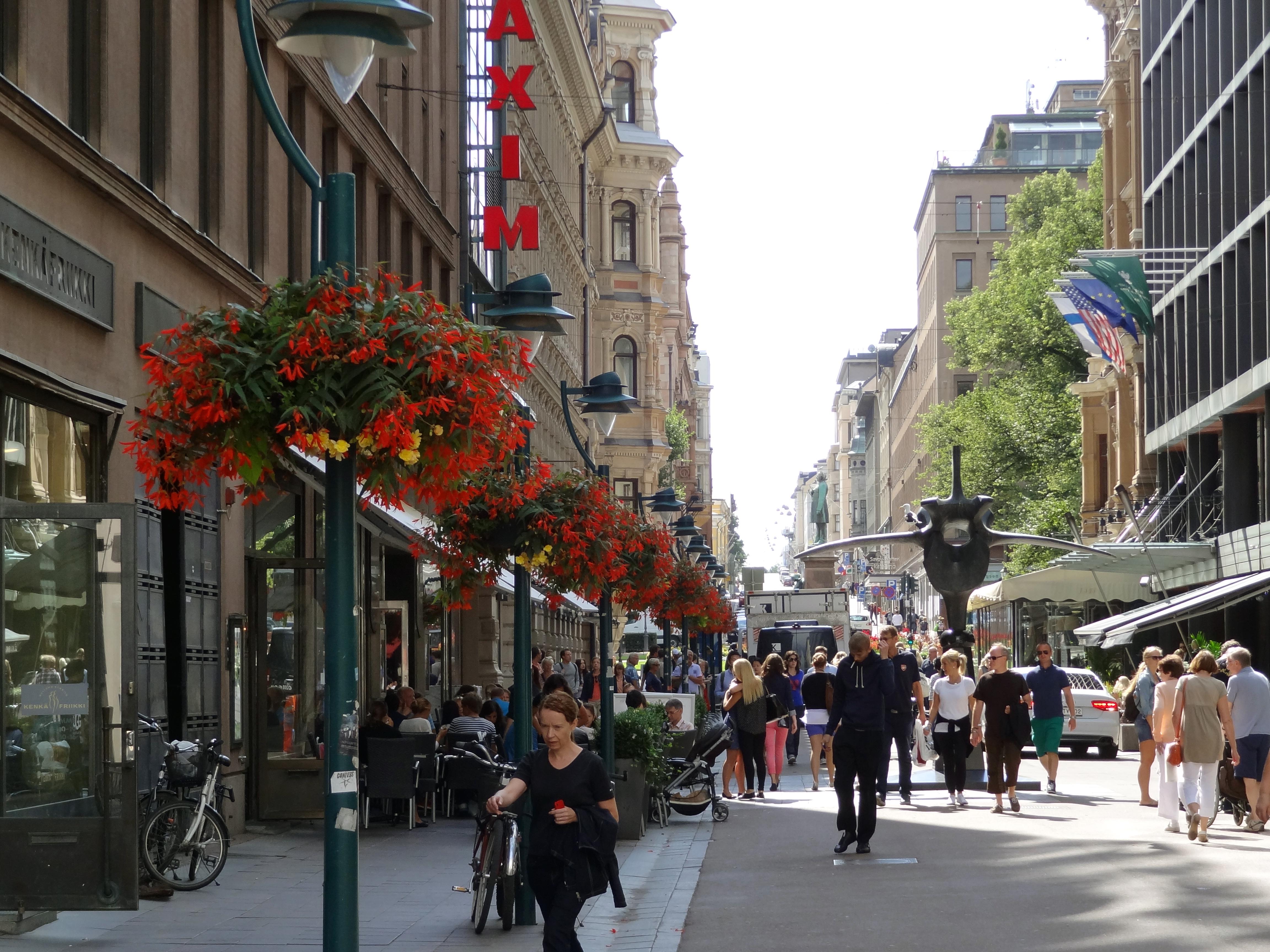 Shopping in Helsinki