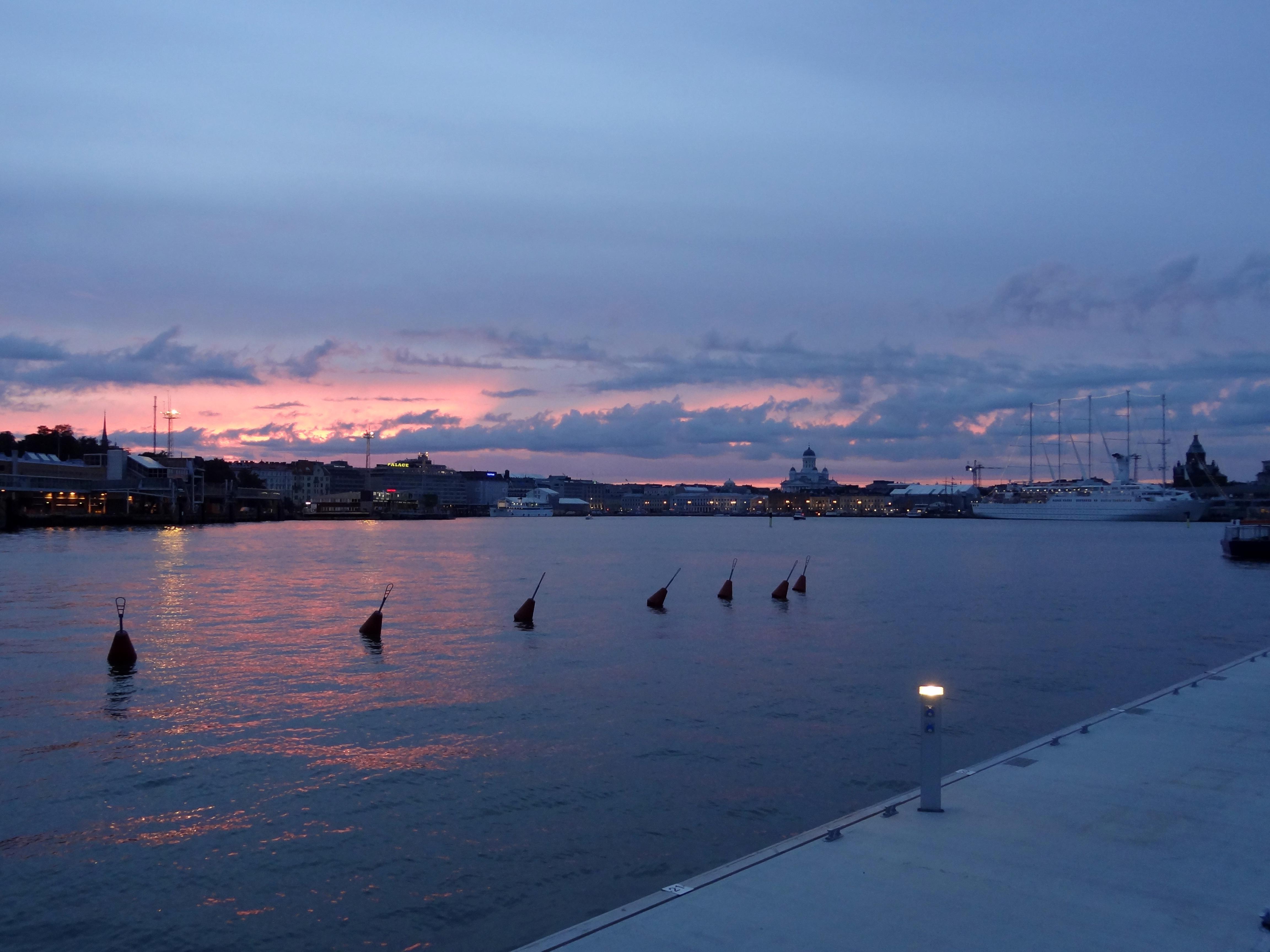 Abend in Helsinki