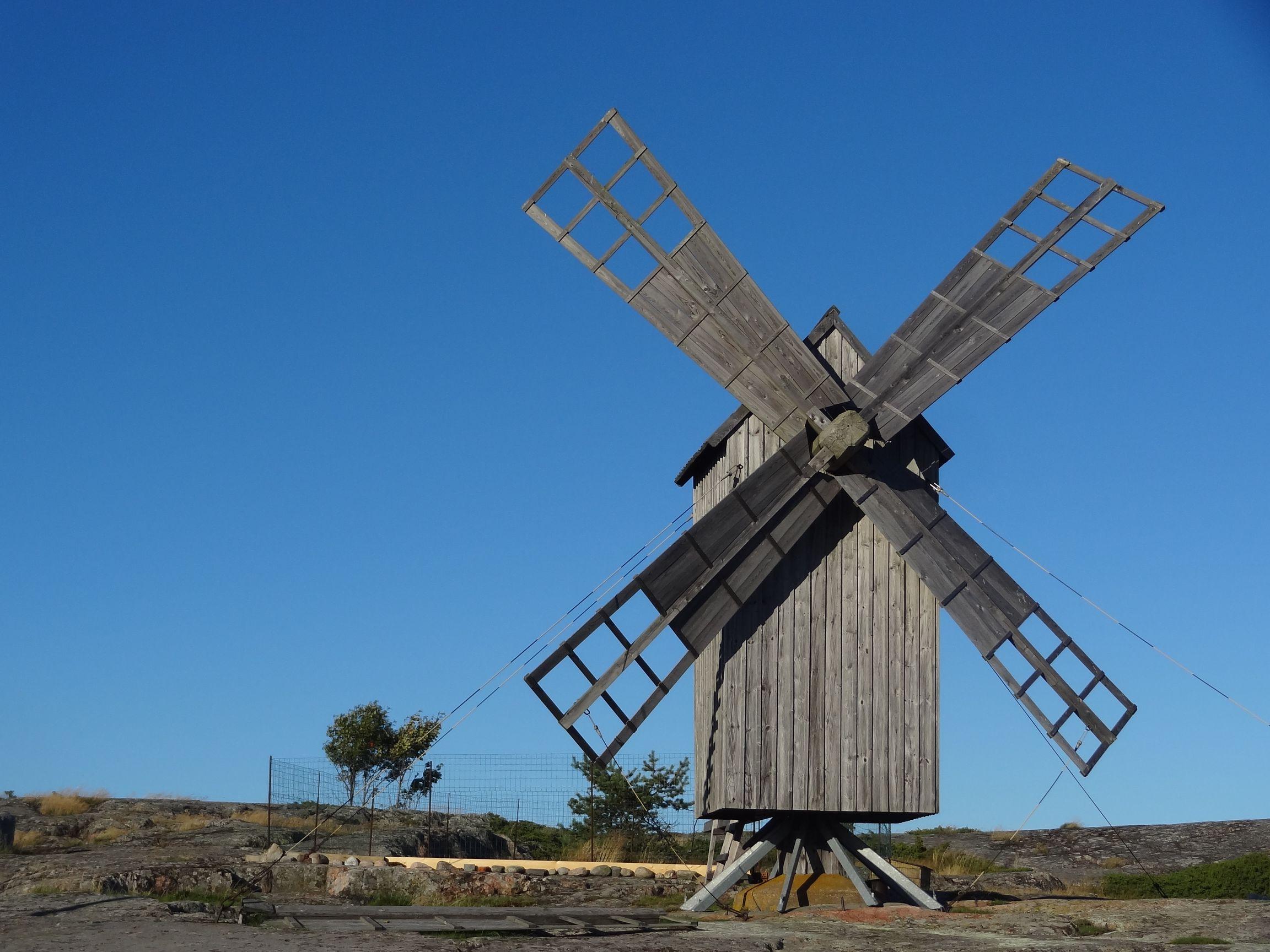 Windmühle auf Jurmo