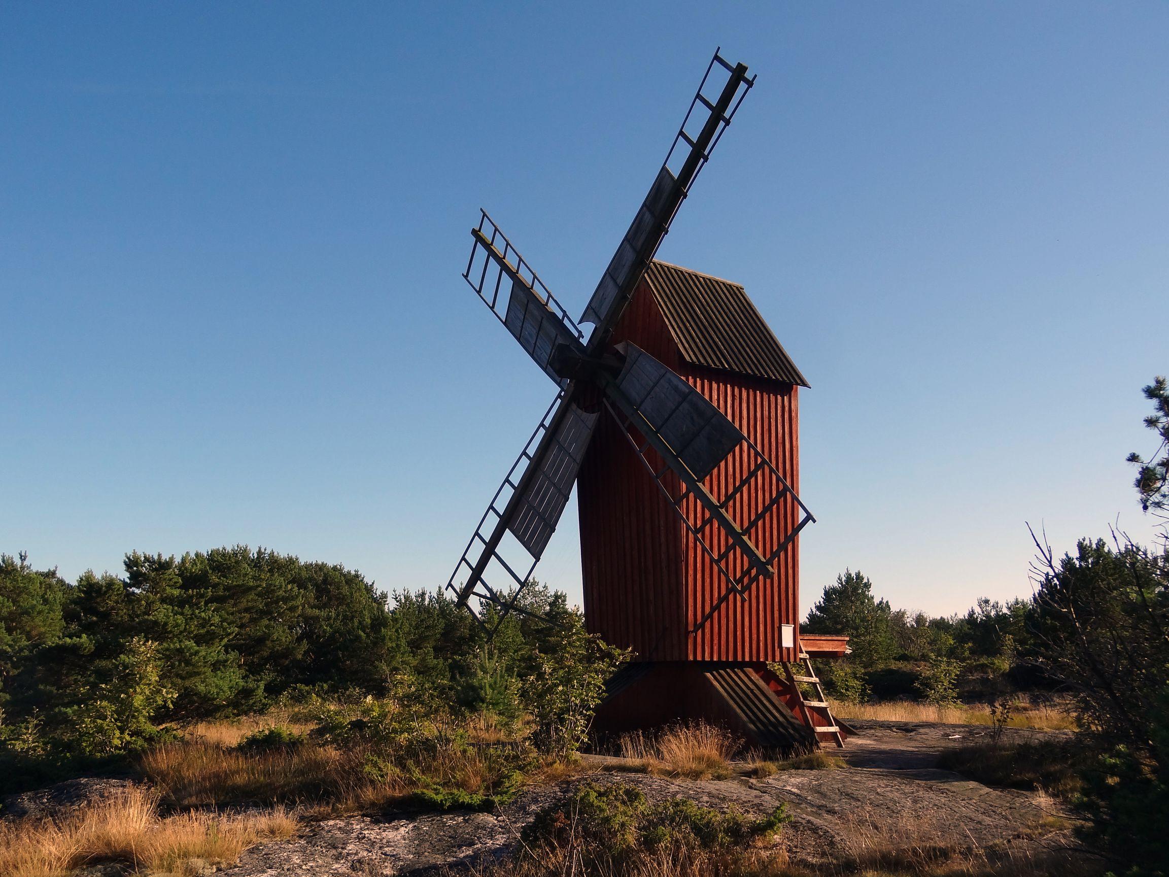 Alte Mühle auf Sottunga