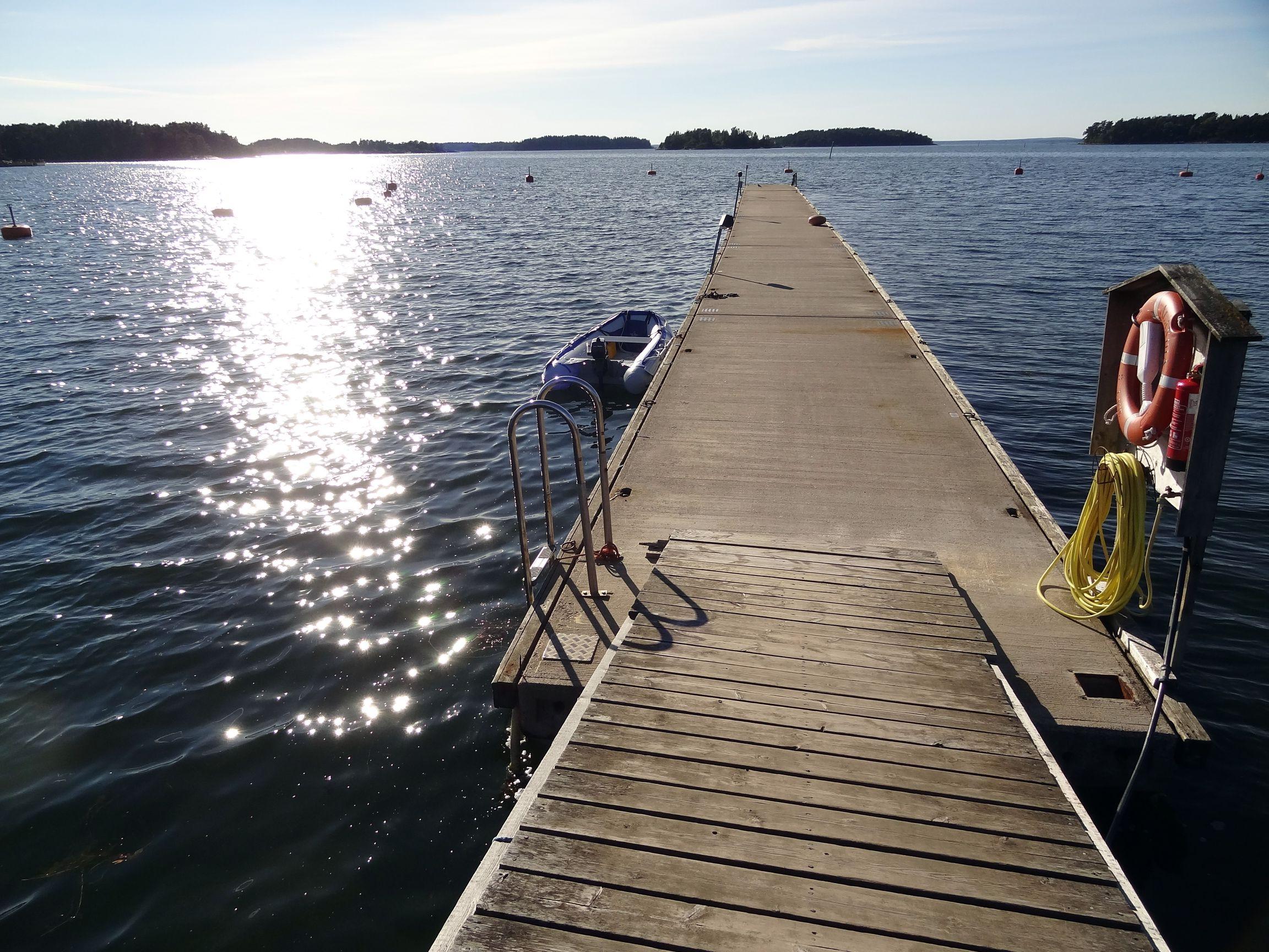 Hafen von Degerby