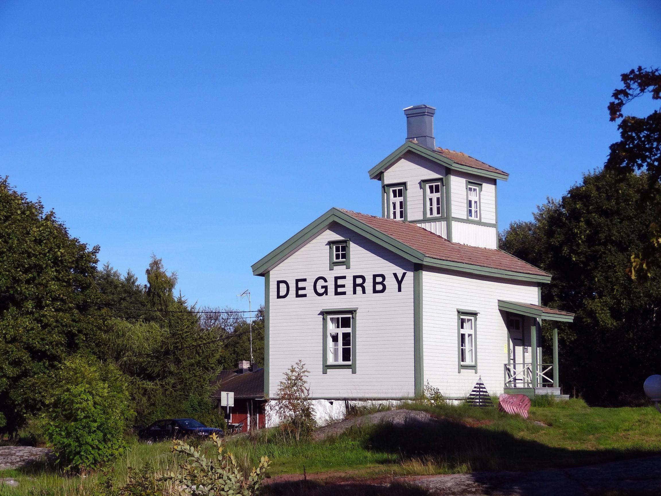Lotsenhaus von Degerby, heute ein Museum