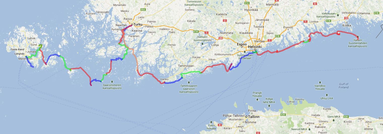Track Finnland und Alandindseln