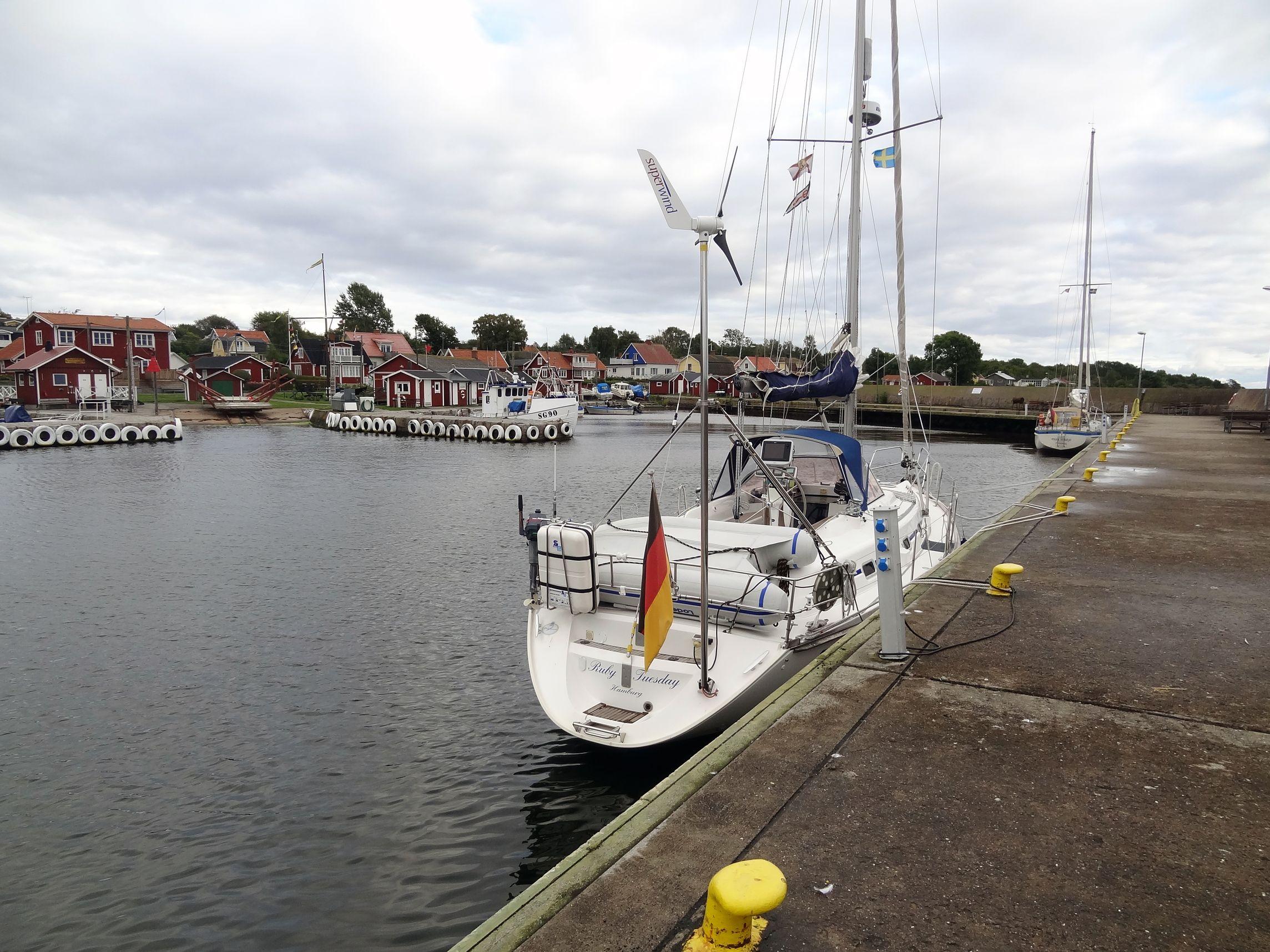 Hafen von Hanö