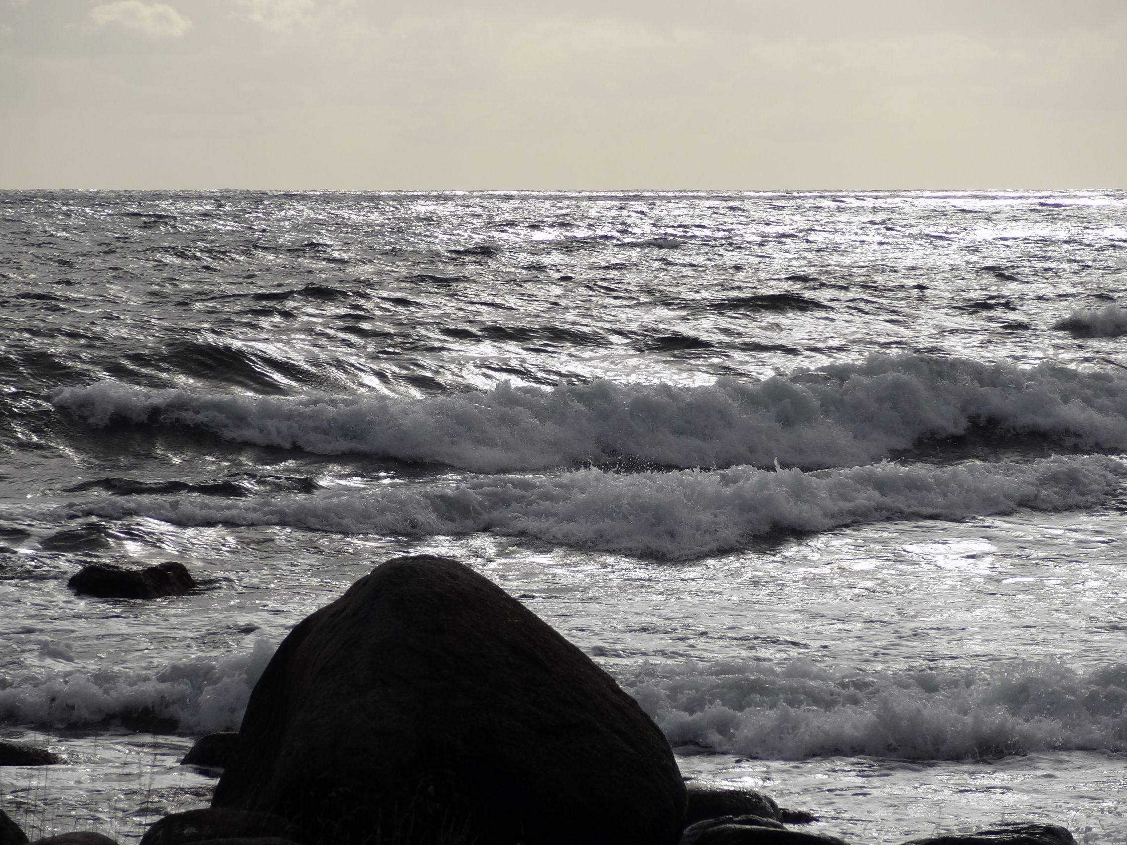 Am Strand von Hanö