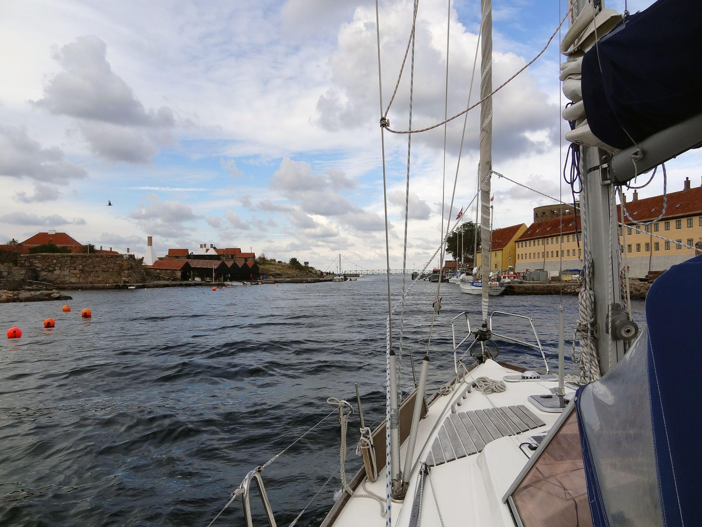 Hafeneinfahrt nach Christiansö