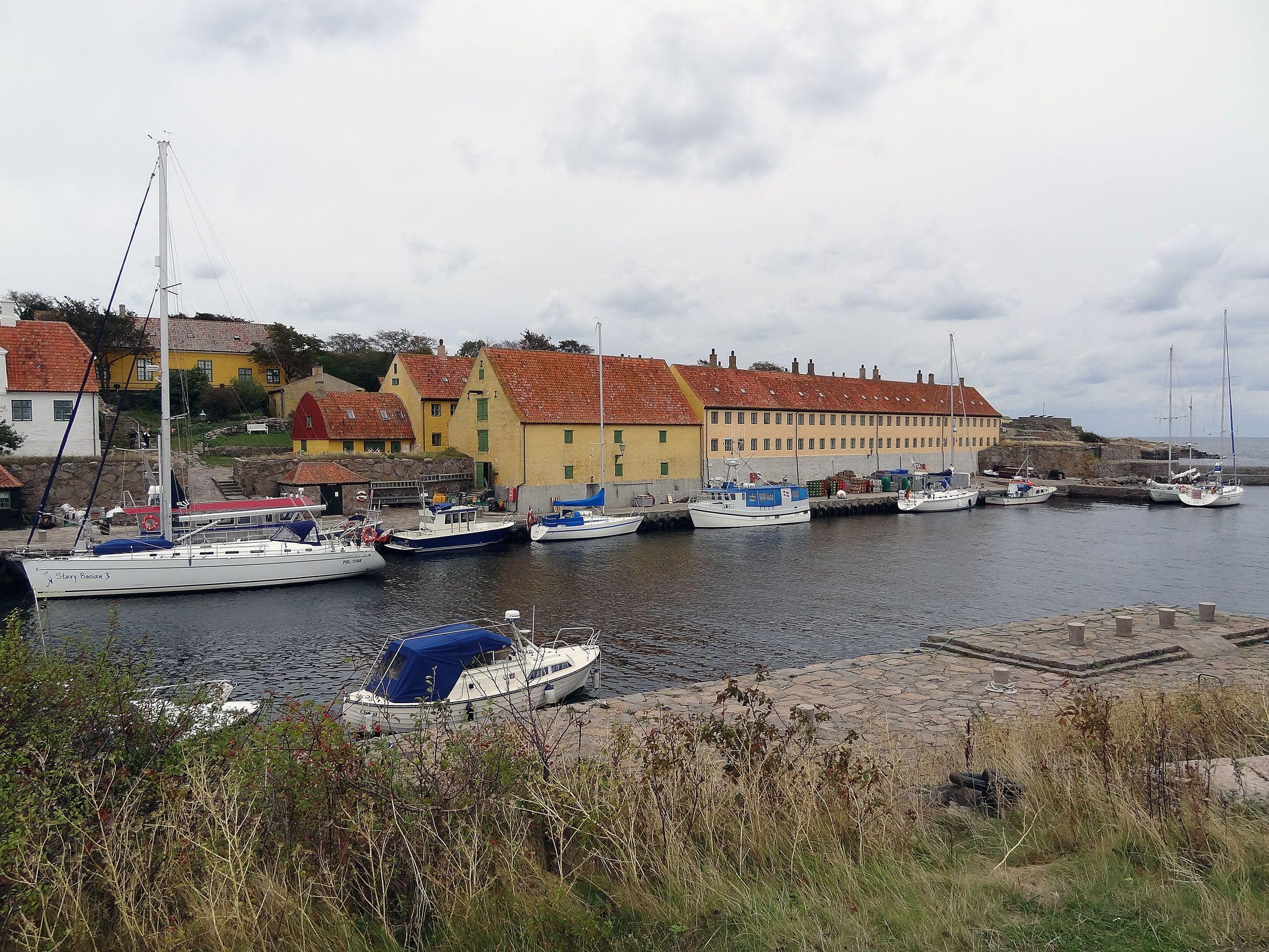 Hafen auf Christiansö