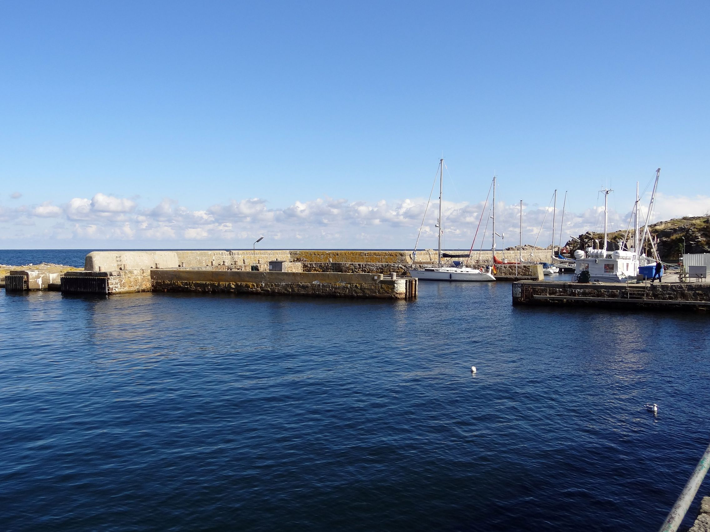 Hafen von Gudhjem