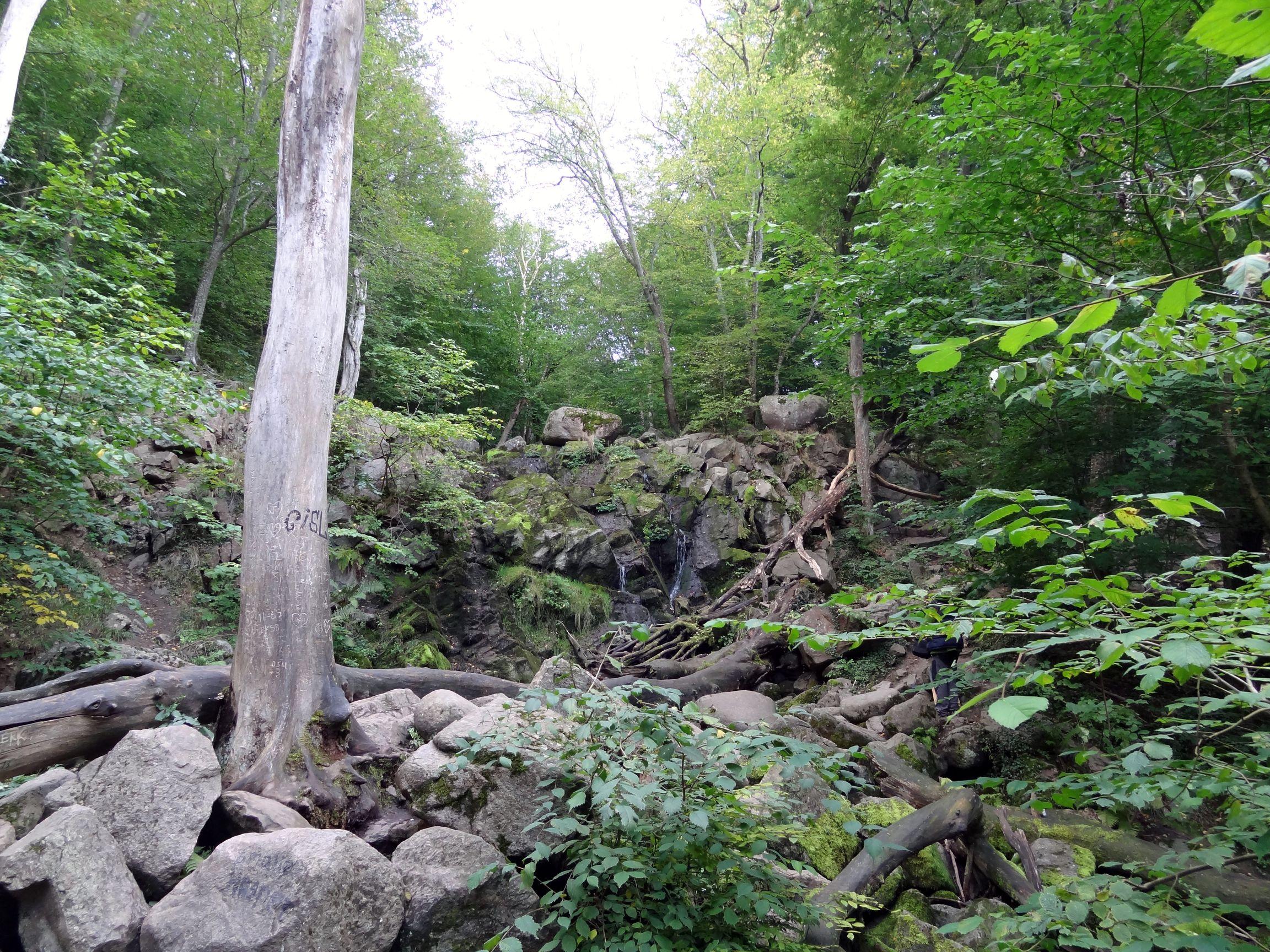 Wasserfall im Donder-Tal