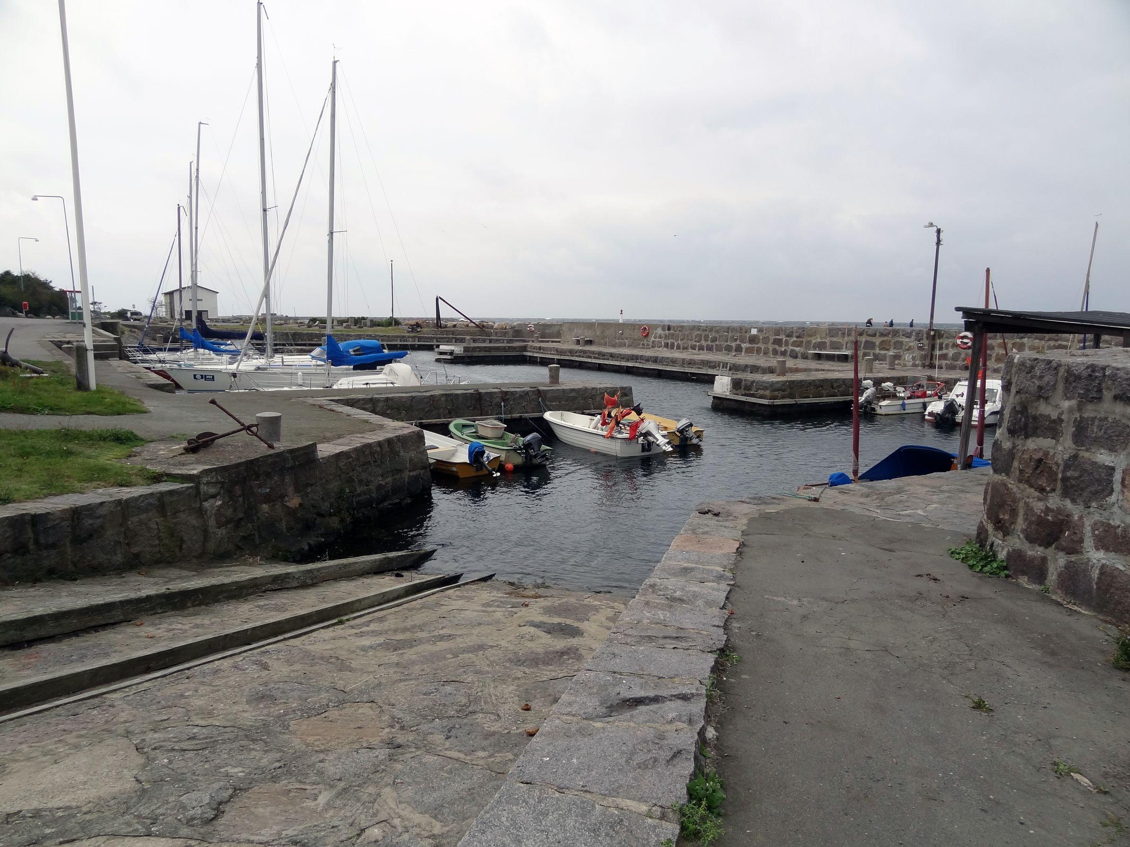 Hafen von Vang