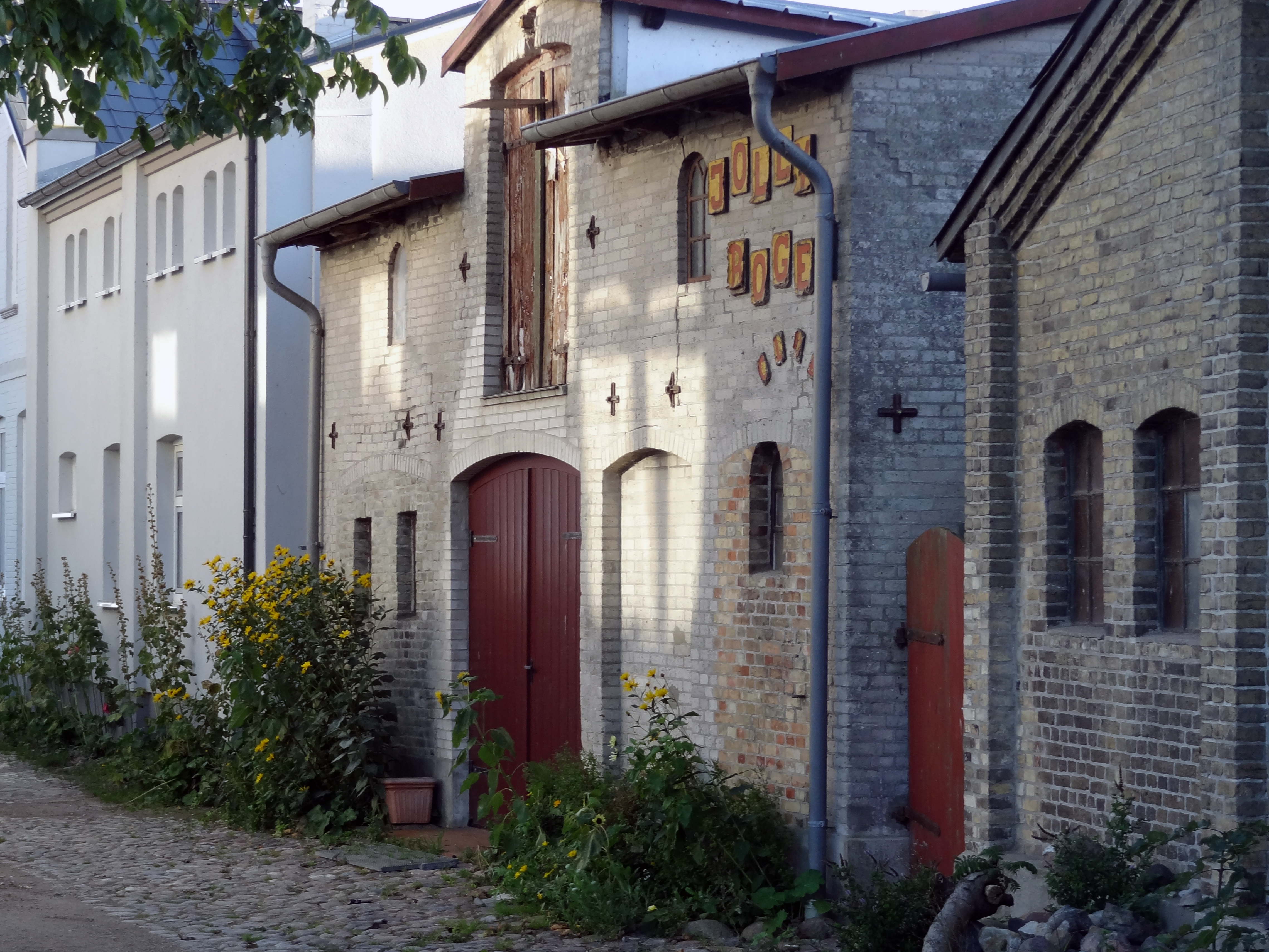 Gasse in Orth