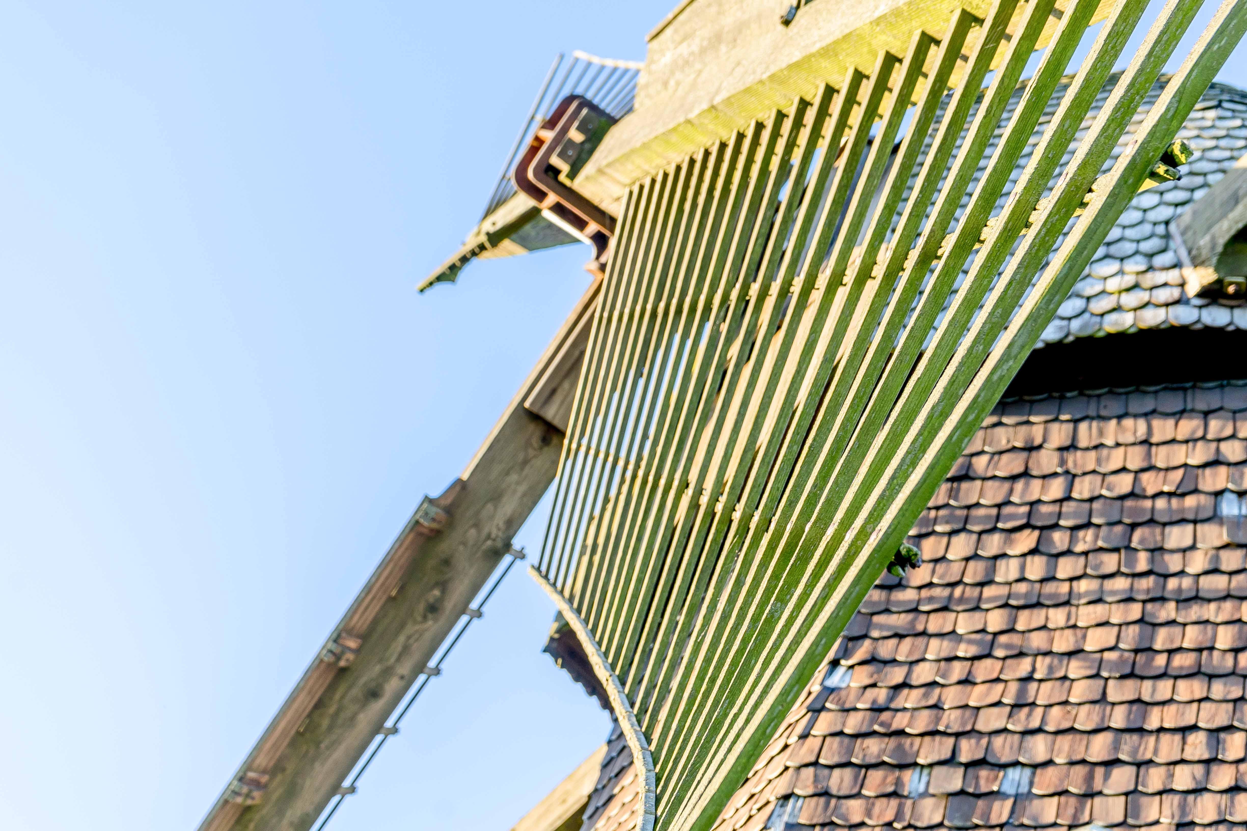 Flügel der Windmühle