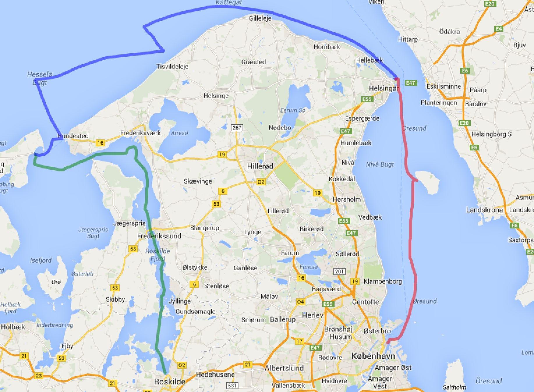 Roskilde - Kopenhagen