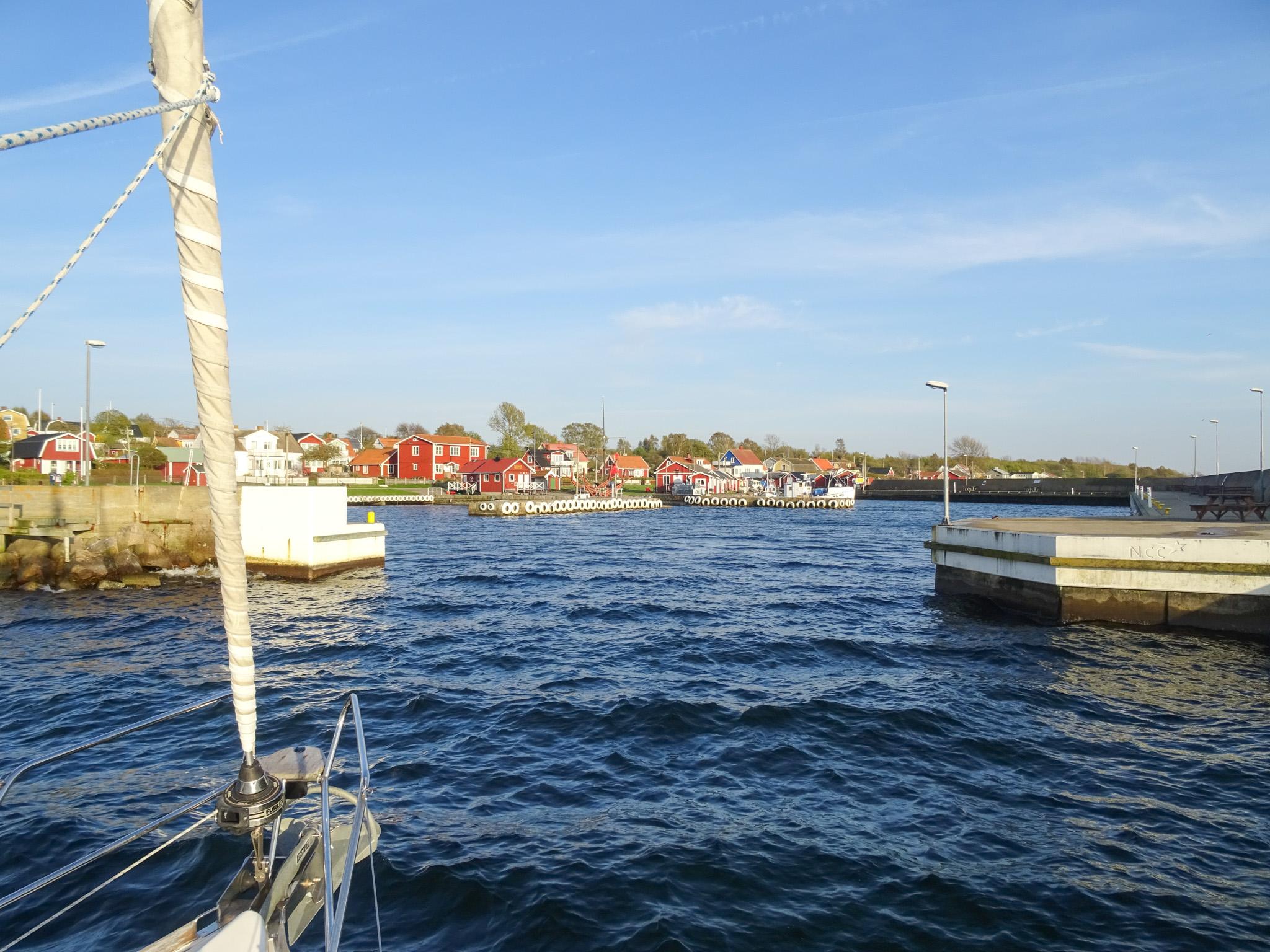 Hafeneinfahrt Hanö