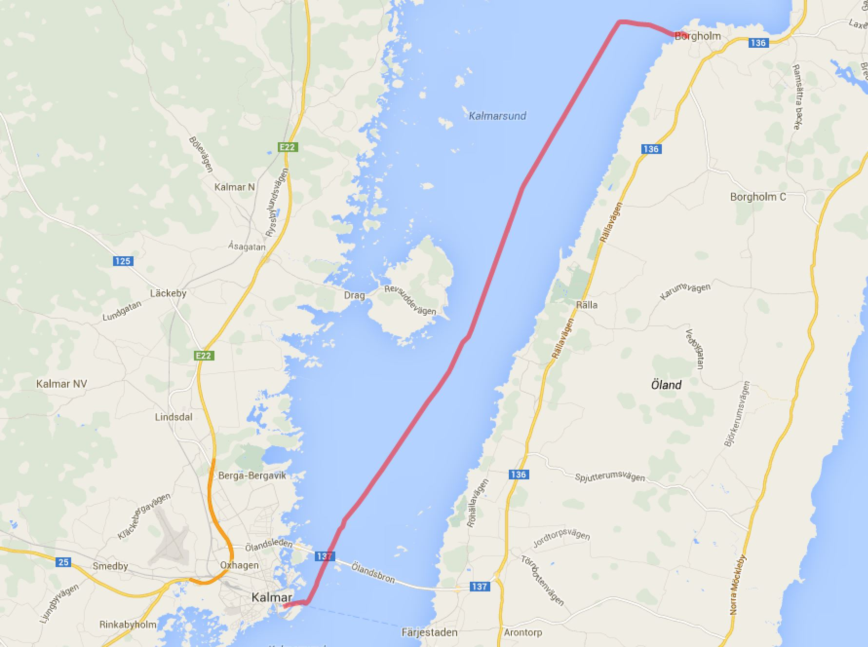 Kalmar - Borgholm