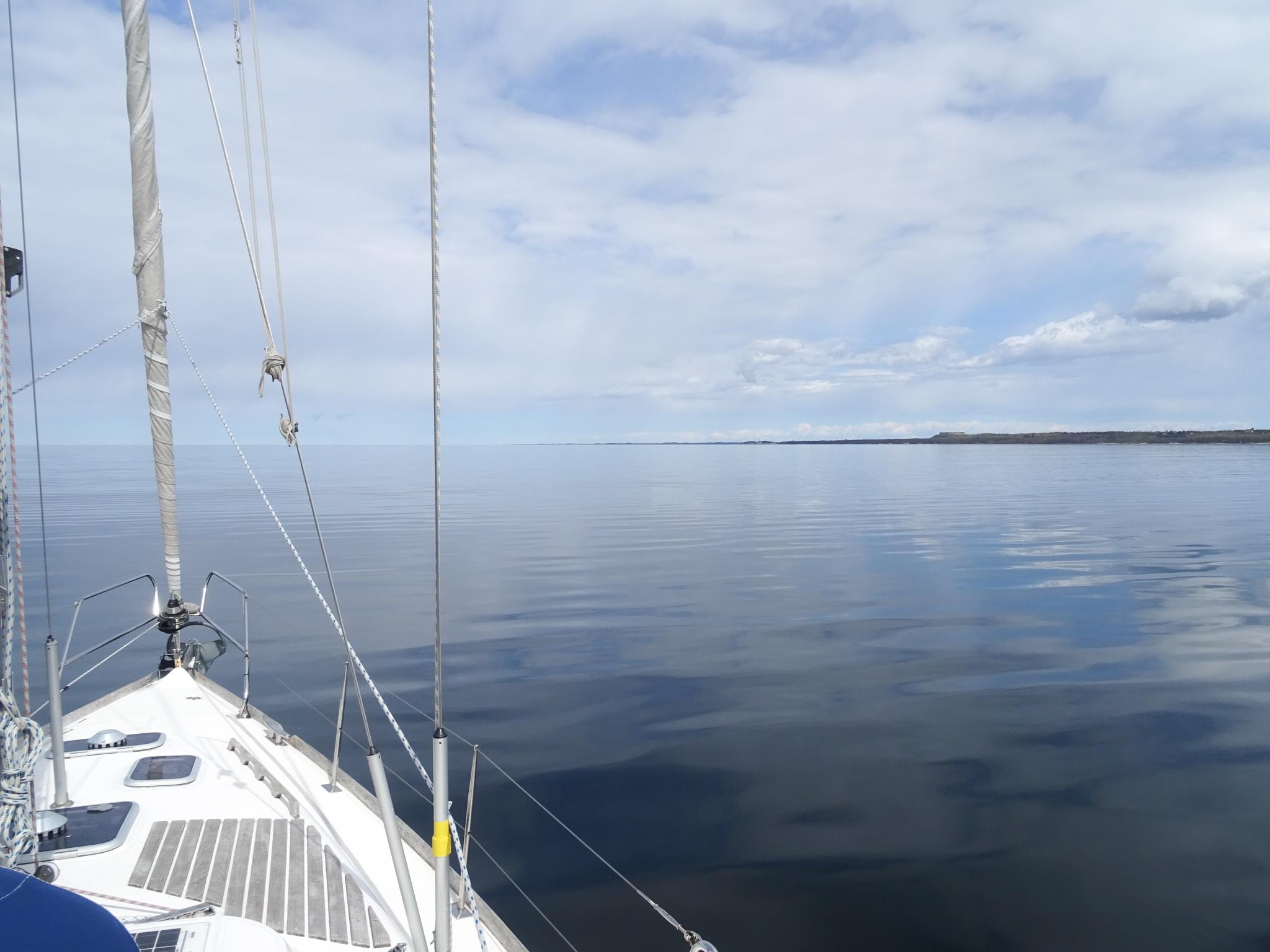 Still und star ruht die Ostsee