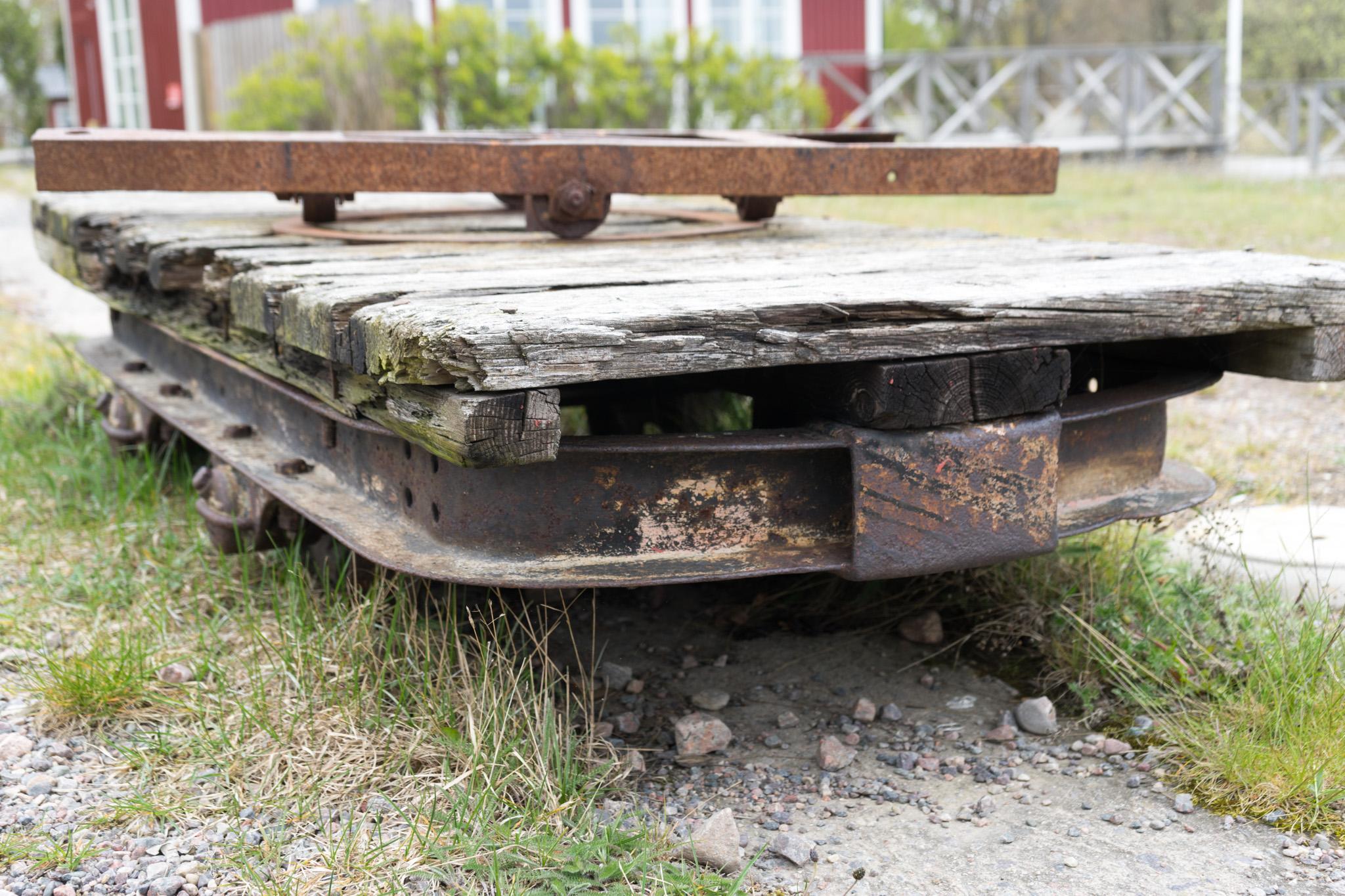 Transporwagen für Seezeichen