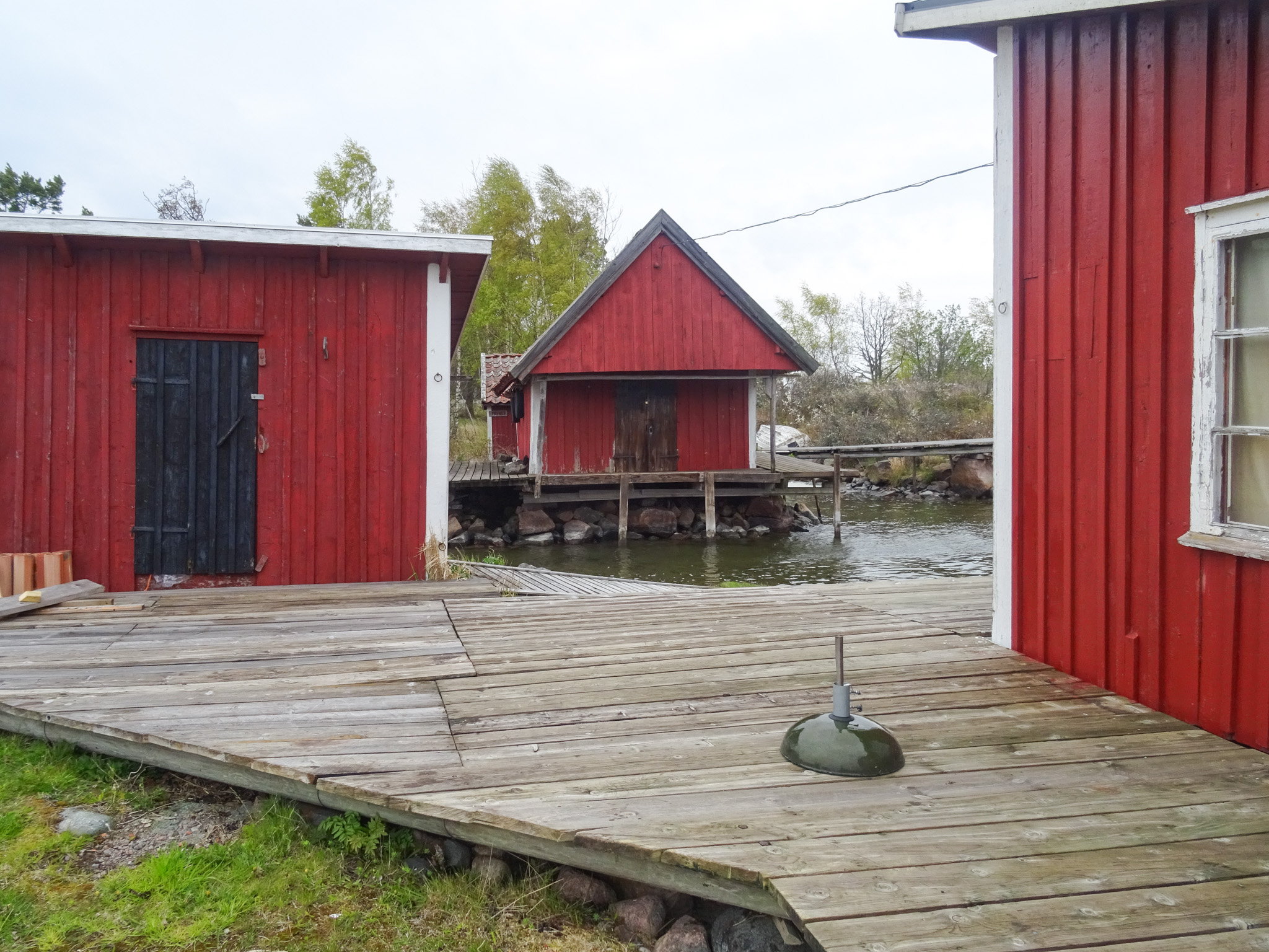 Fischerhafen am Dorf