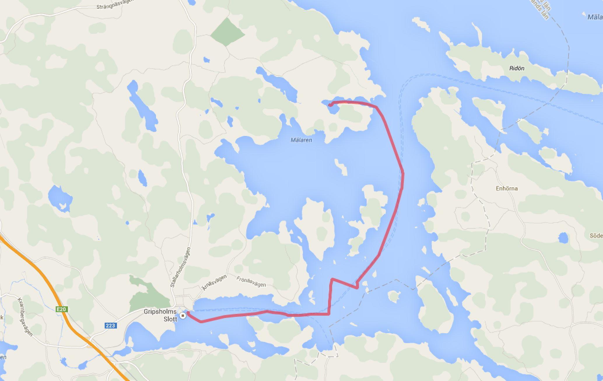 Mariefred - Gunnviksviken