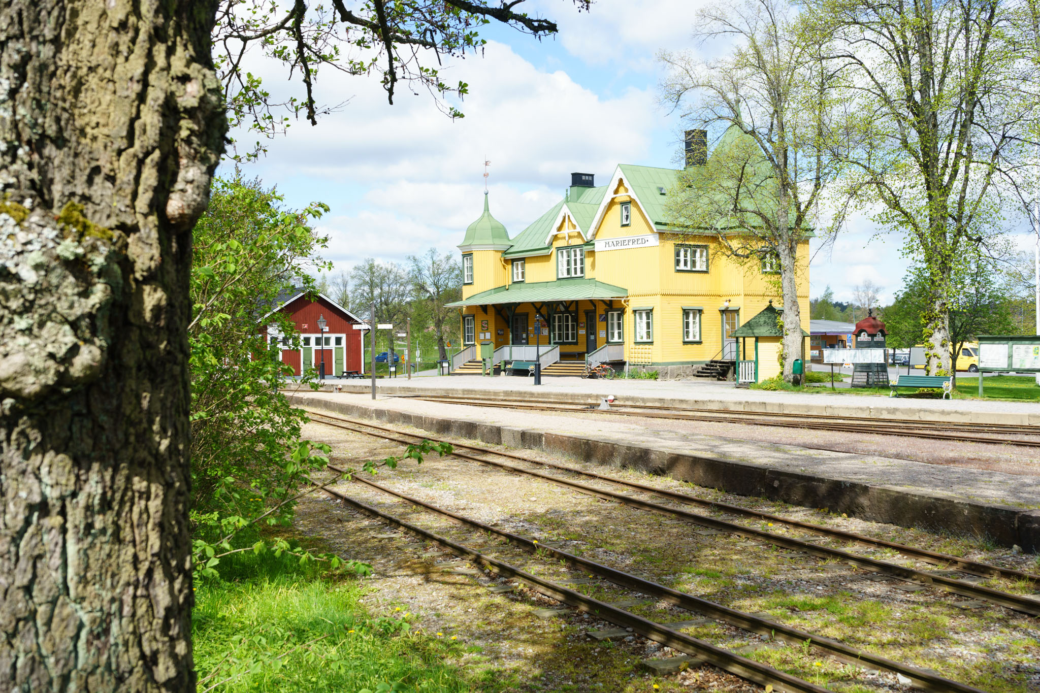 Museumsbahnhof Mariefred