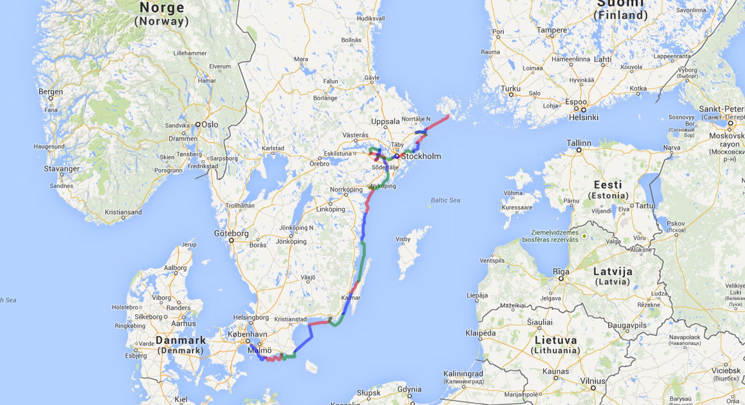 Track Schweden