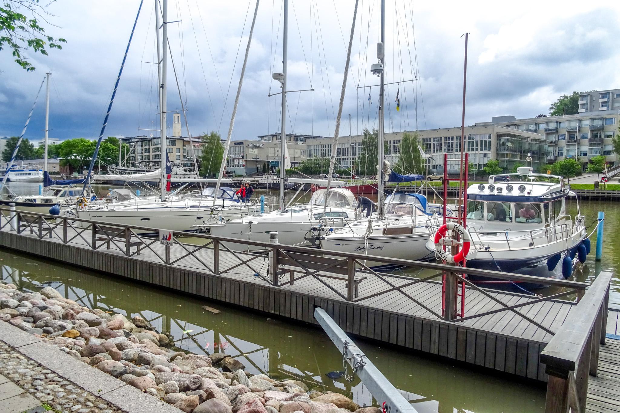 Liegeplatz in Turku im Guestharbour