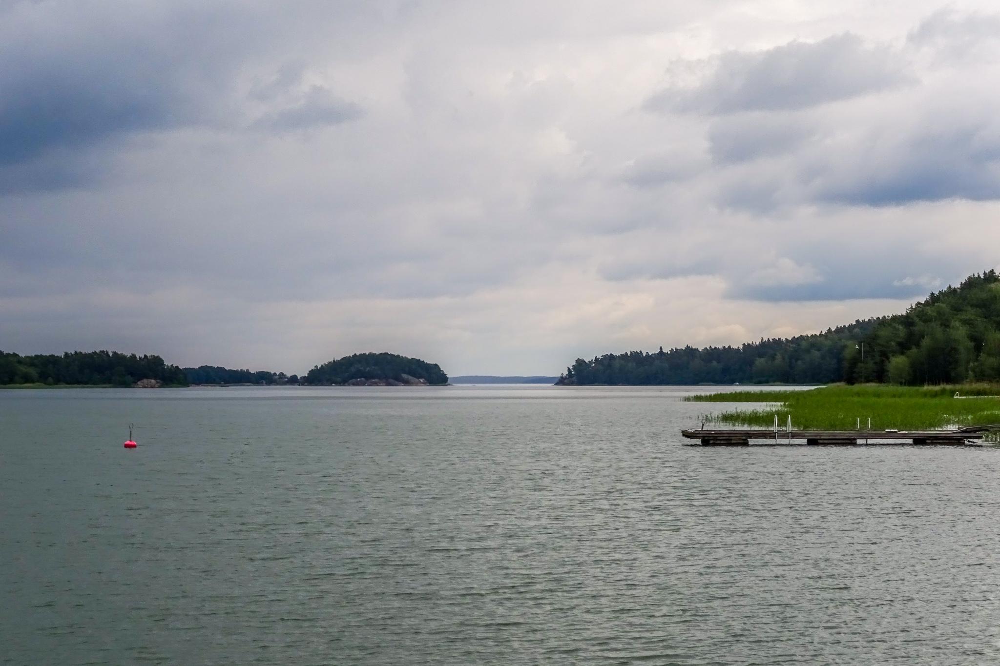 Bucht von Rymättylä