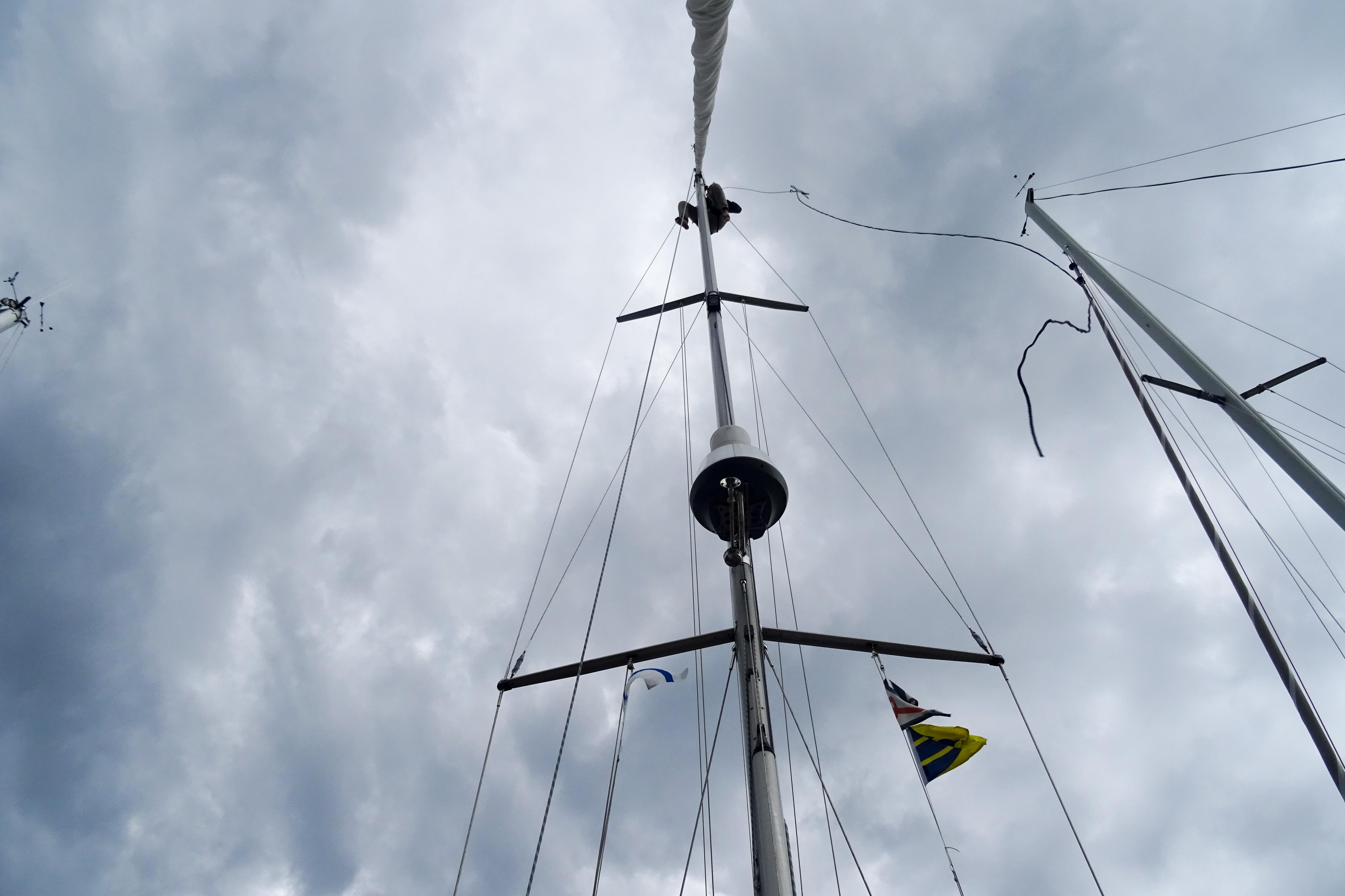 Montage des neuen Windgebers