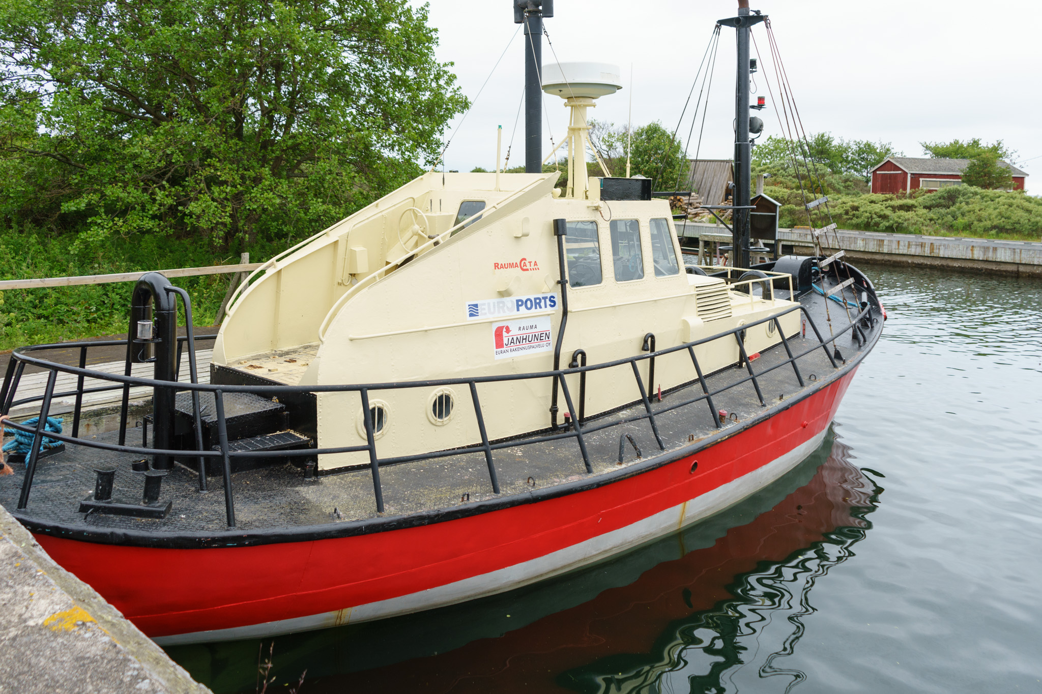 Lotsenboot außer Dienst